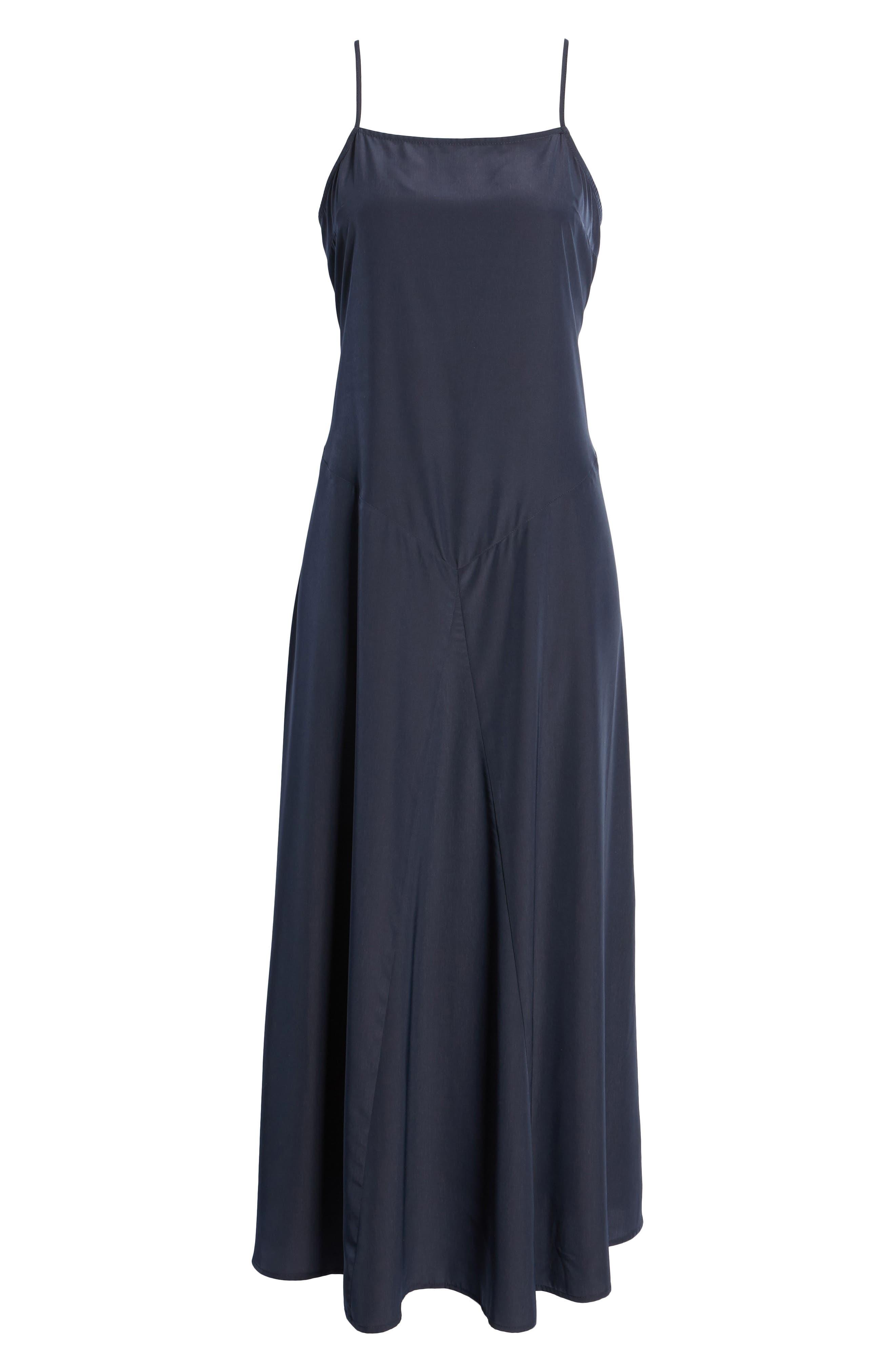 Maxi Slip Dress,                             Alternate thumbnail 6, color,                             410
