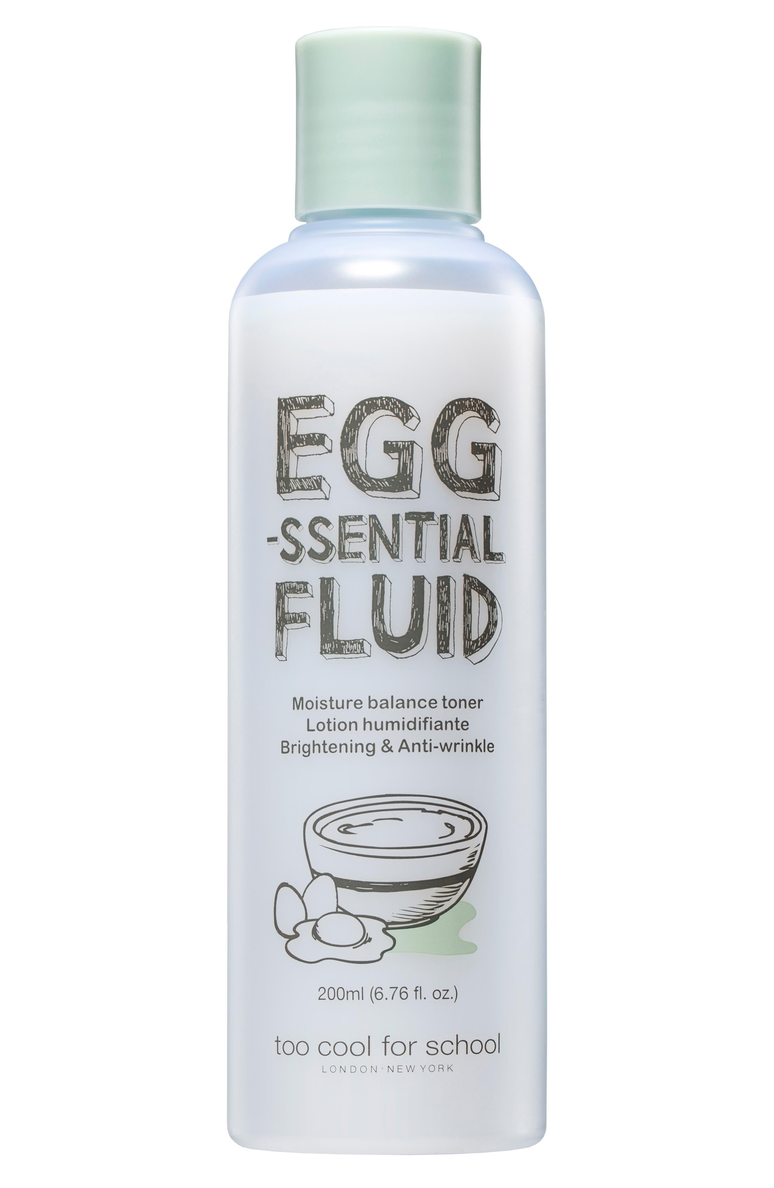 Egg-ssential Fluid Toner,                             Main thumbnail 1, color,                             NO COLOR