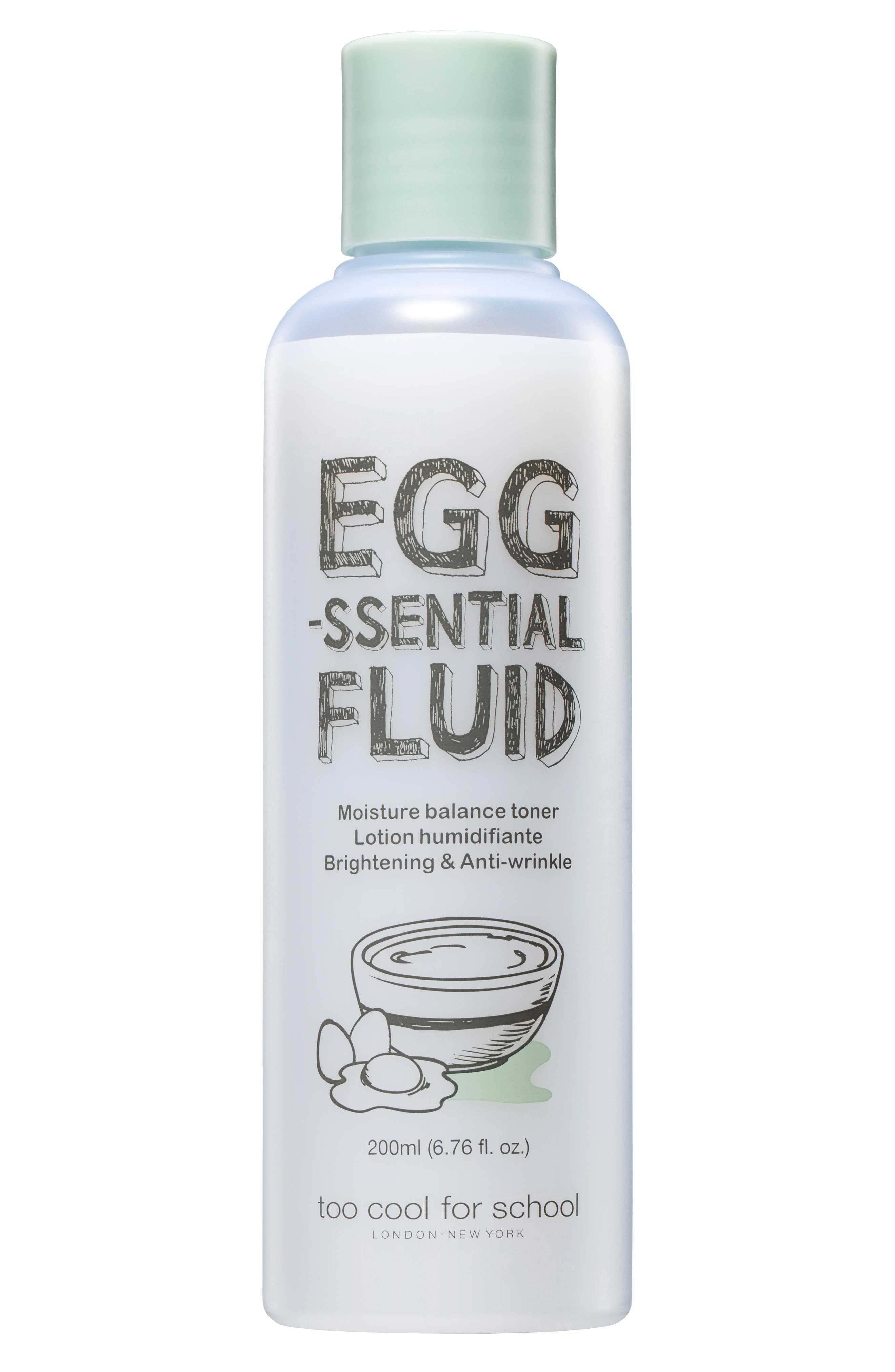 Egg-ssential Fluid Toner,                         Main,                         color, NO COLOR