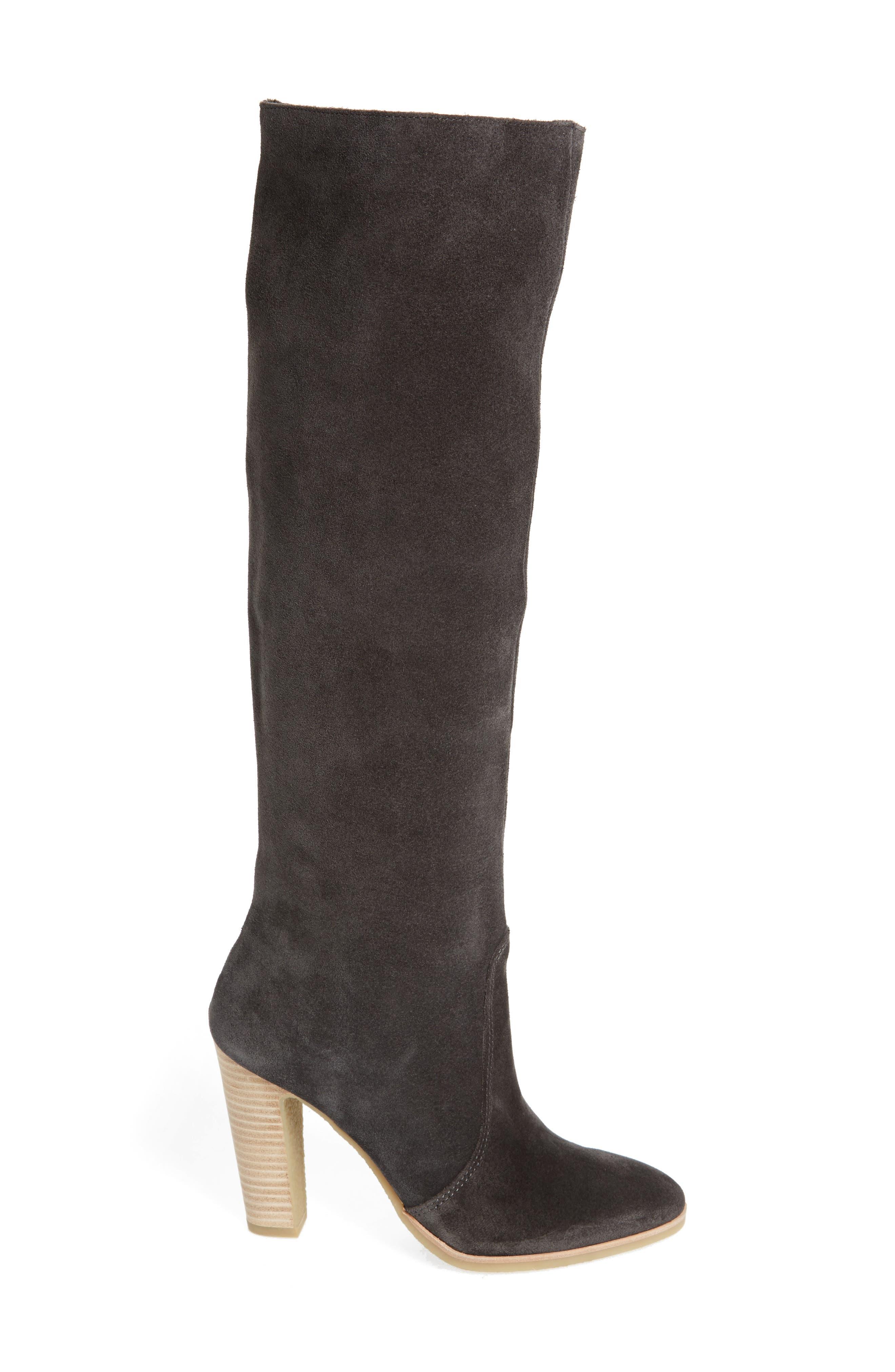 Celine Knee-High Boot,                             Alternate thumbnail 3, color,                             020