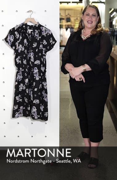 Hydrangea Silk Dress, sales video thumbnail