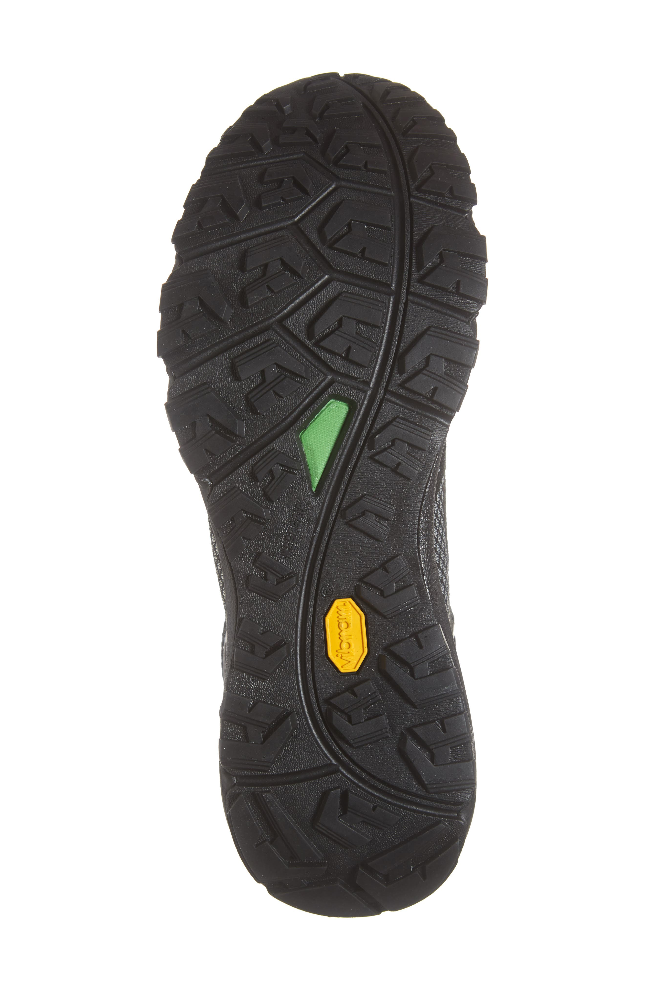 Ultra Fastpack III Mid Top Gore-Tex<sup>®</sup> Hiking Boot,                             Alternate thumbnail 6, color,                             BLACK/ WHITE