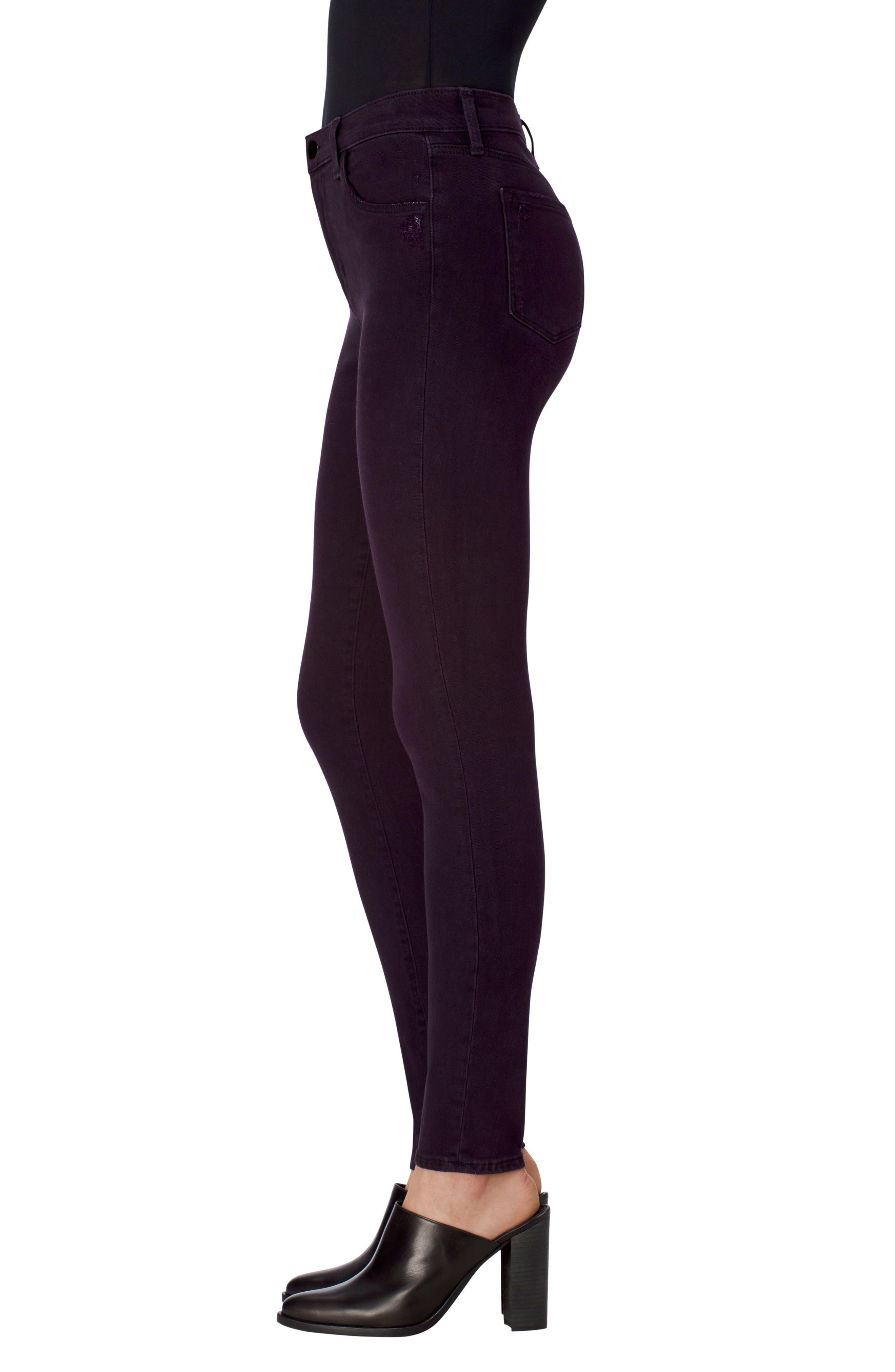 Maria High Waist Skinny Jeans,                             Alternate thumbnail 12, color,