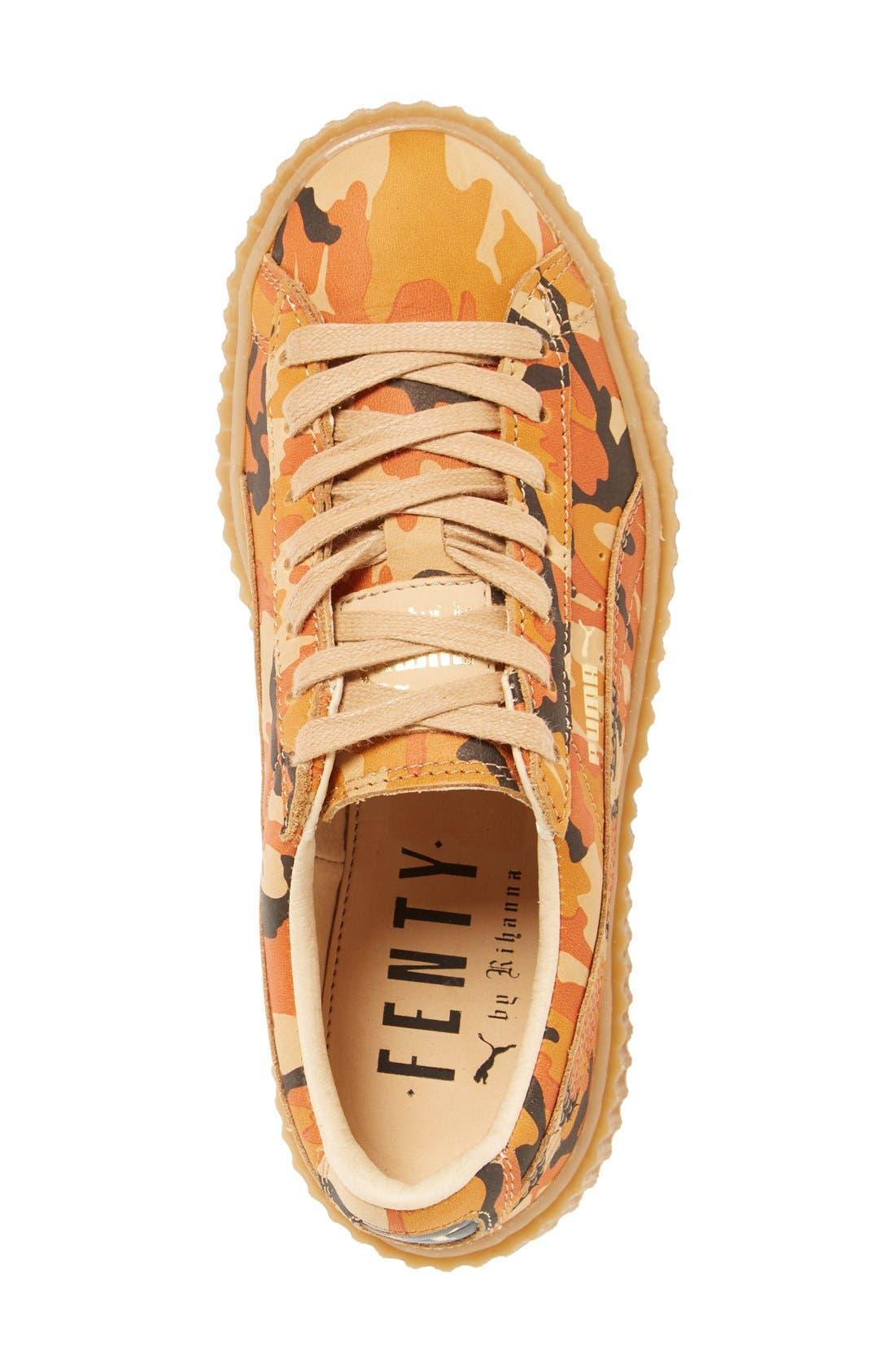 FENTY PUMA by Rihanna Creeper Sneaker,                             Alternate thumbnail 45, color,