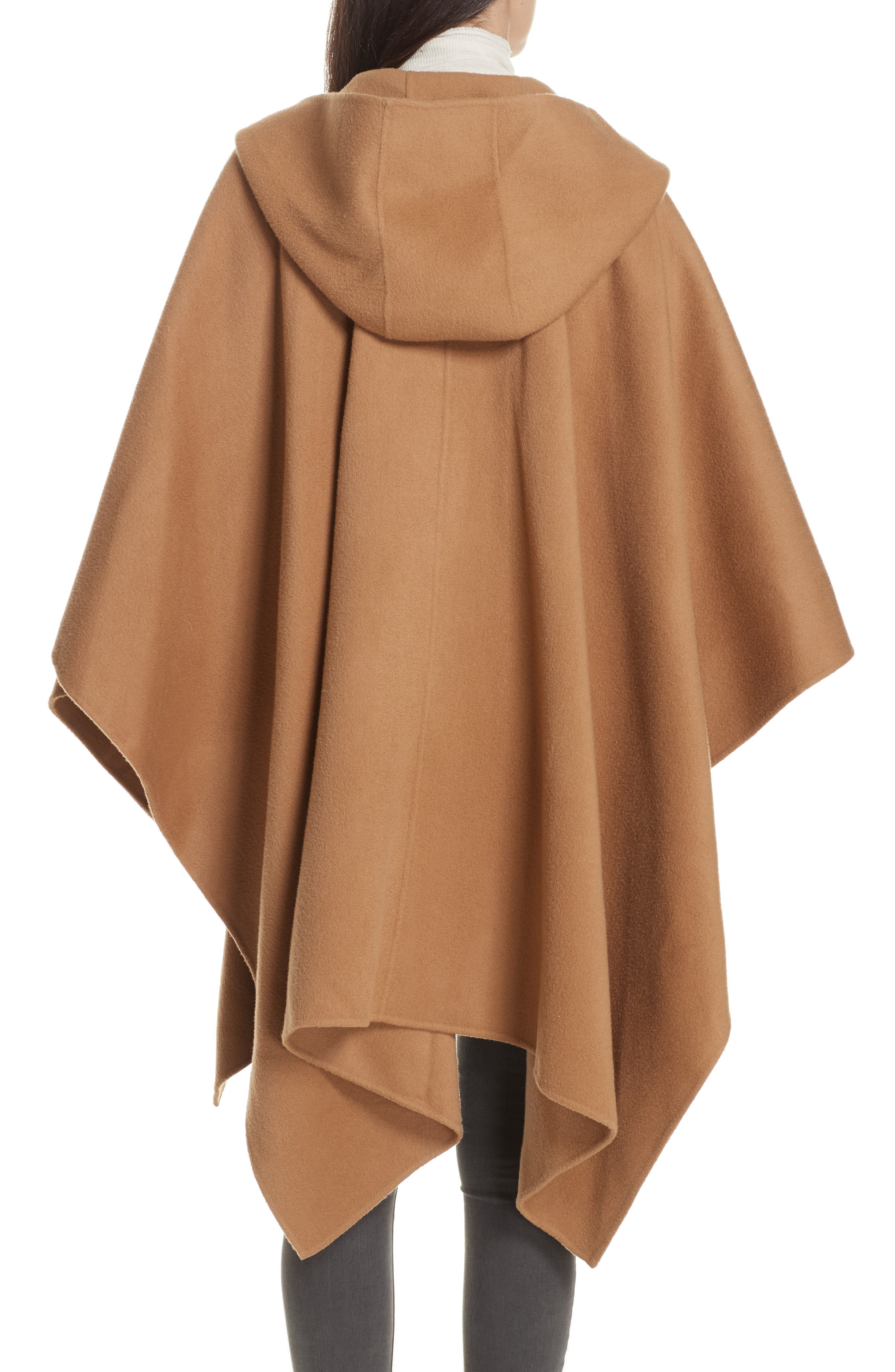 New Divide Hooded Poncho Coat,                             Alternate thumbnail 2, color,                             200