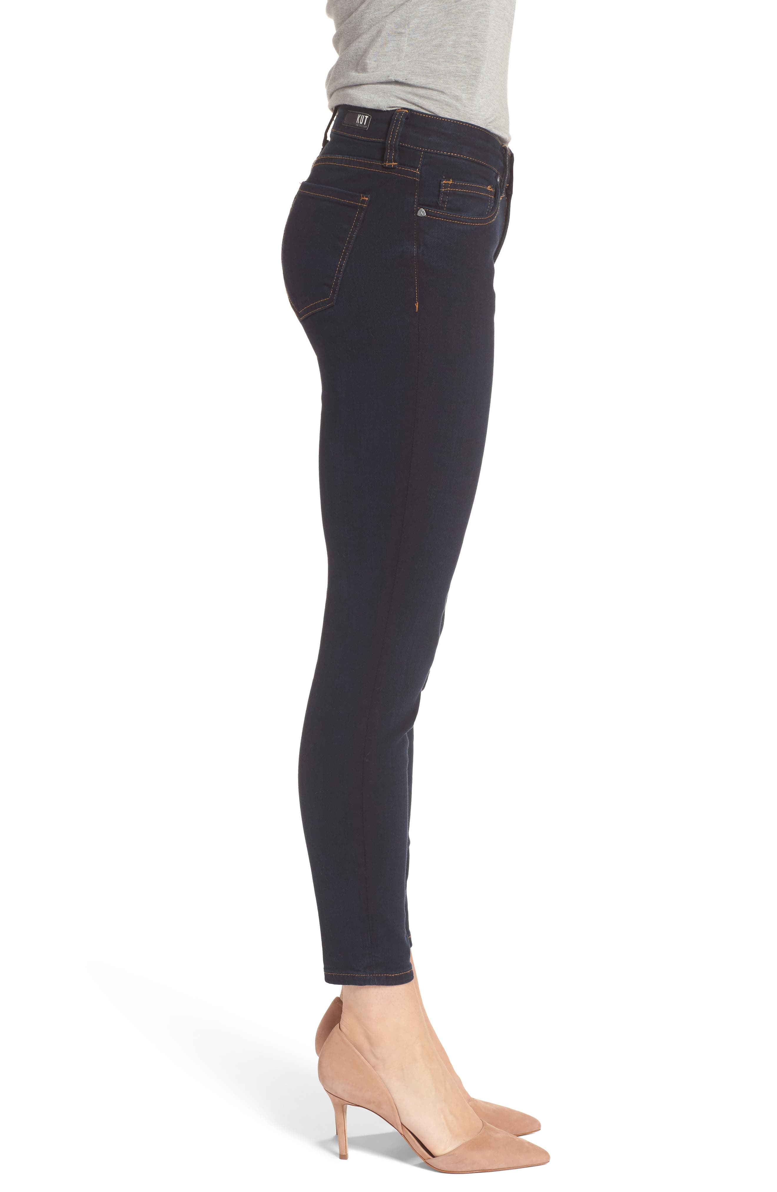 Connie Ankle Skinny Jeans,                             Alternate thumbnail 3, color,                             437