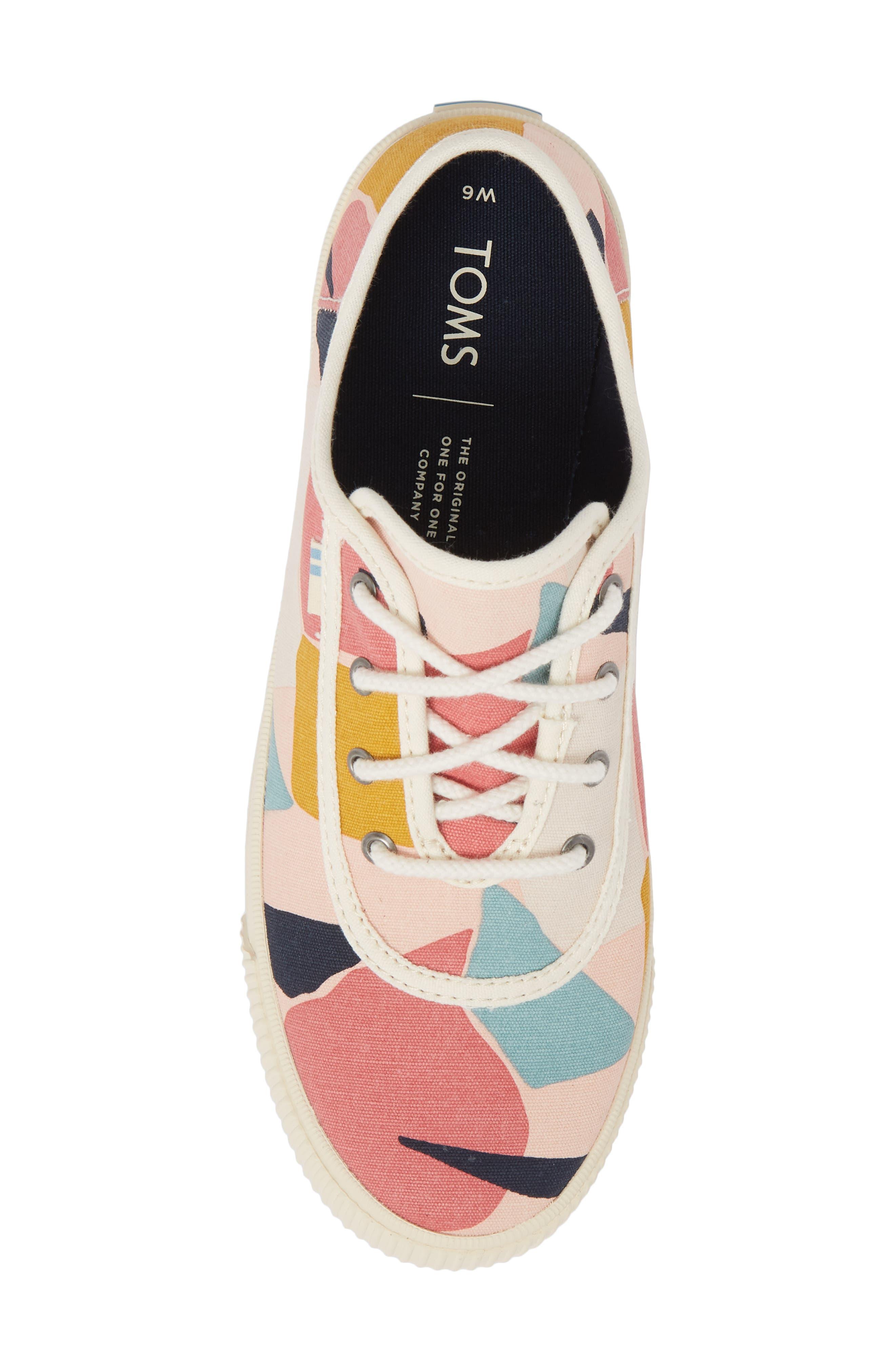 Carmel Print Sneaker,                             Alternate thumbnail 5, color,