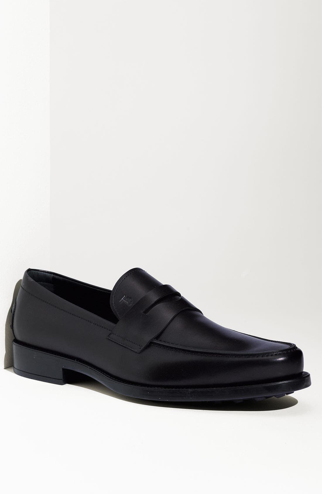 'Boston' Penny Loafer,                         Main,                         color, 001