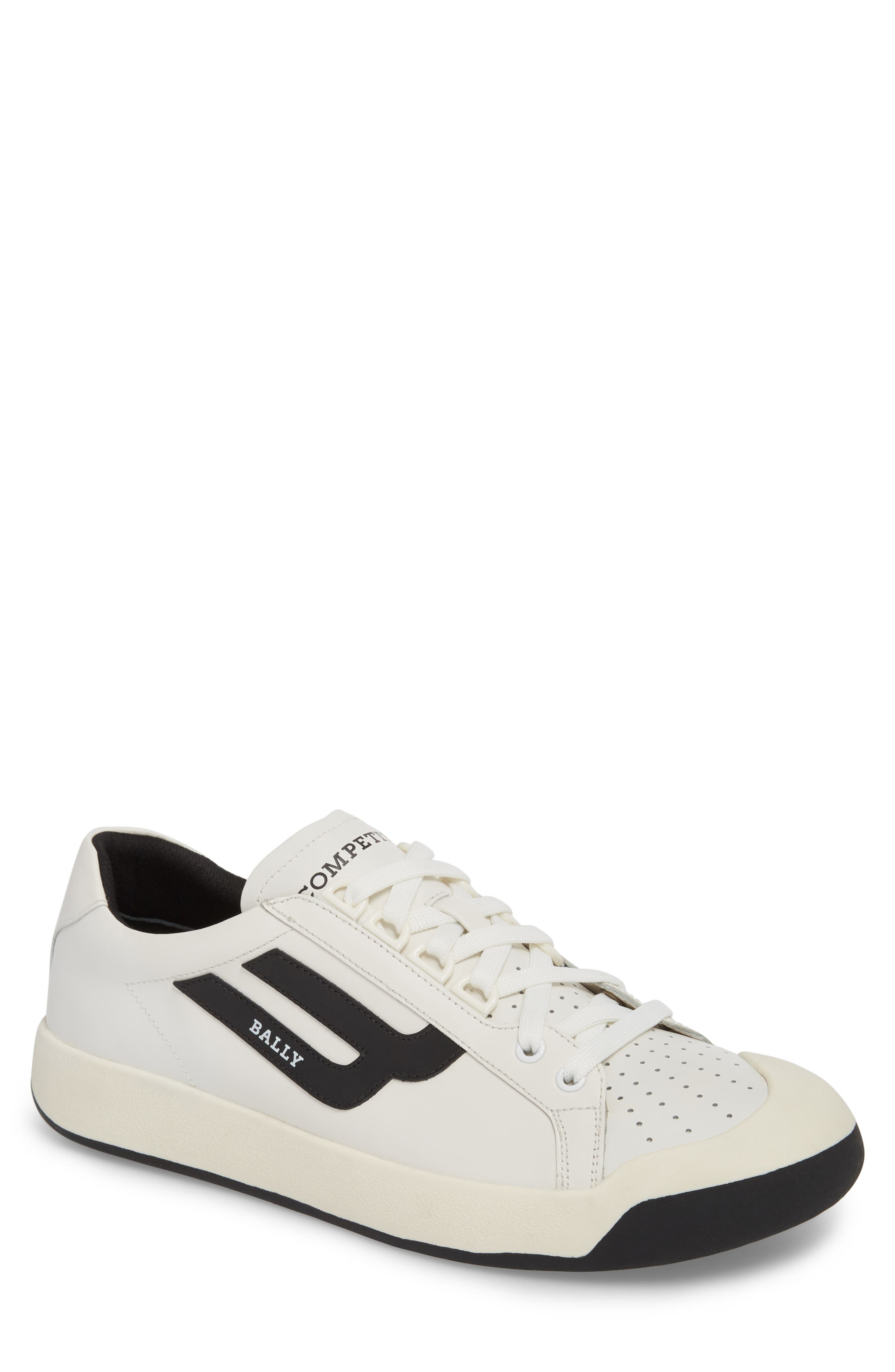 New Competition Sneaker,                         Main,                         color, WHITE