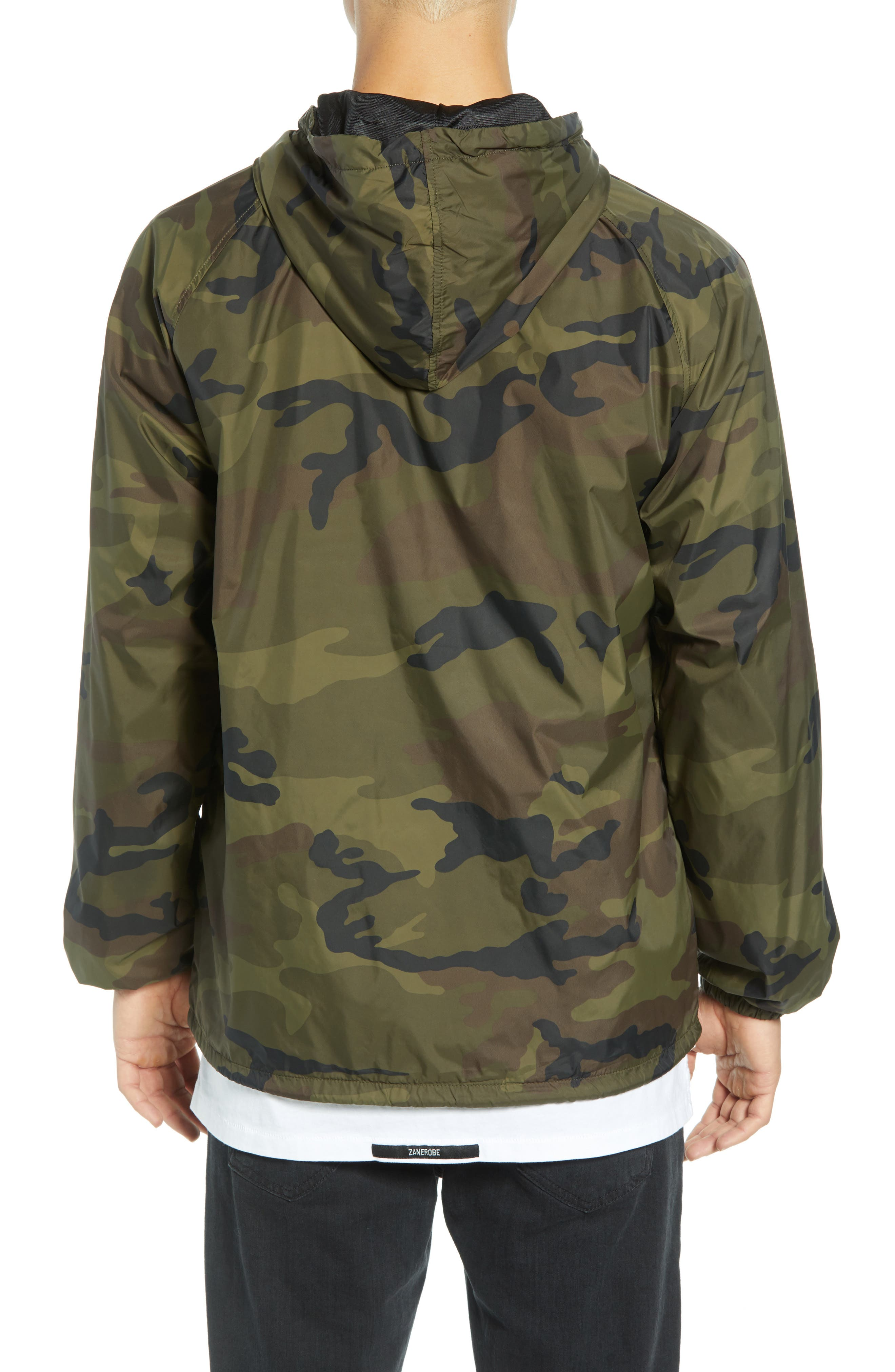 Anyway Coach's Jacket,                             Alternate thumbnail 2, color,                             CAMO