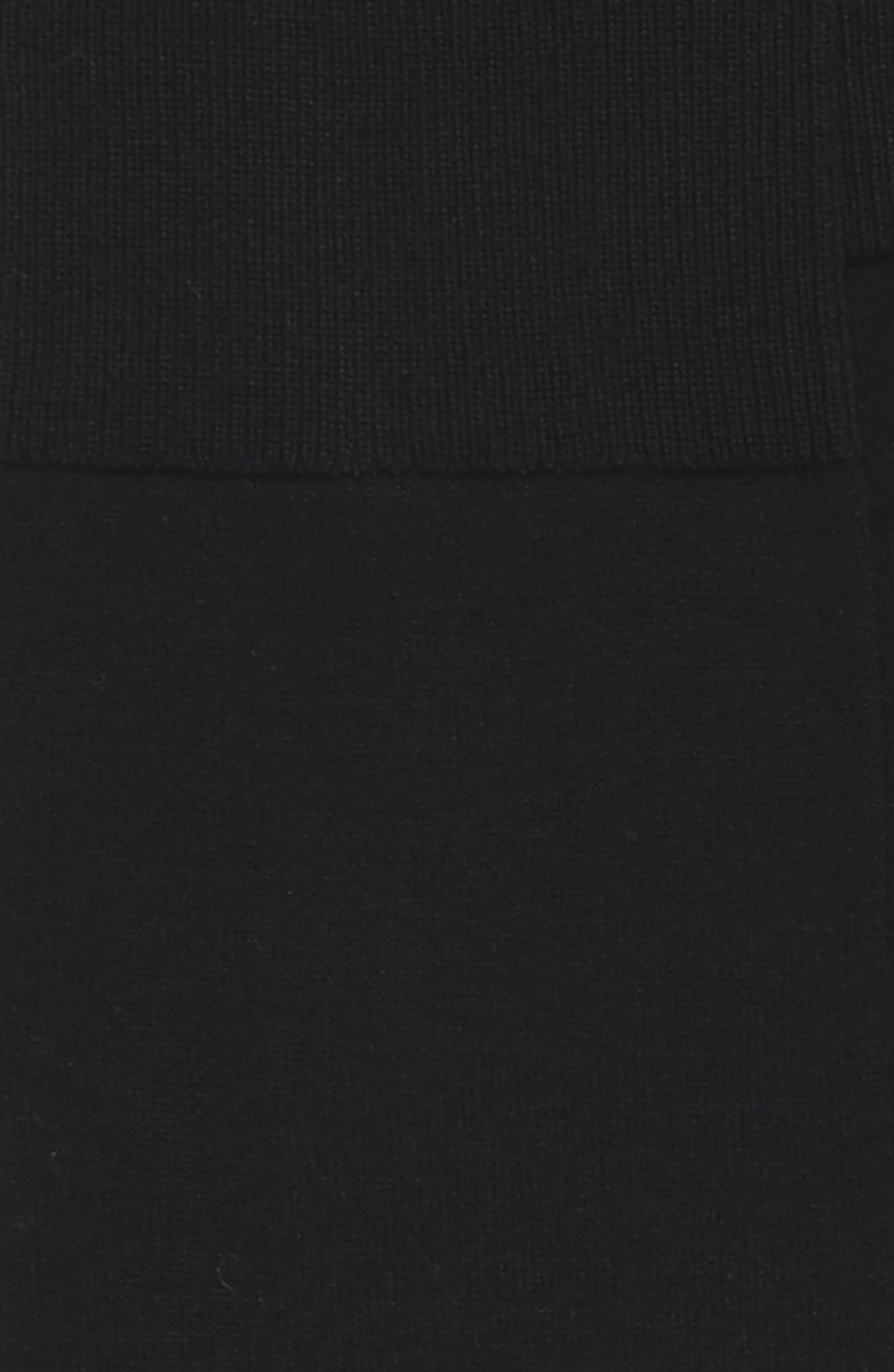 JOHN W. NORDSTROM<SUP>®</SUP>,                             John W. Nordstrom Solid Over the Calf Socks,                             Alternate thumbnail 2, color,                             001
