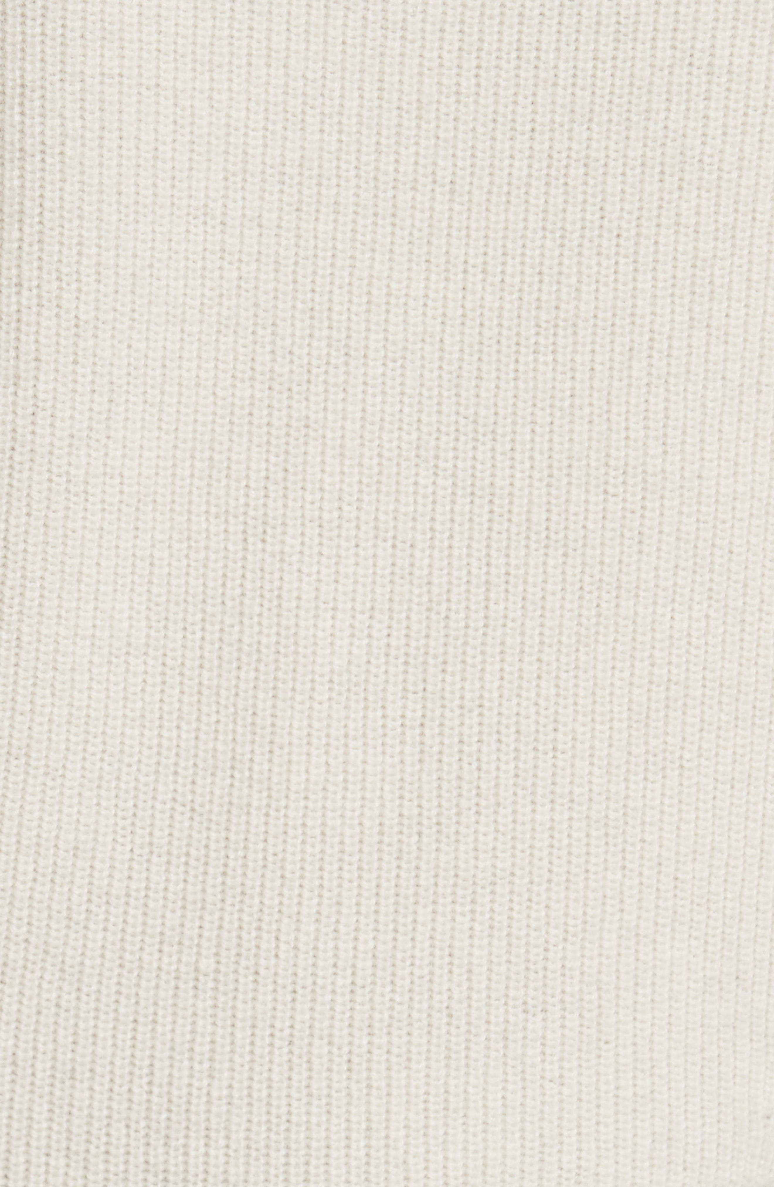 Raleigh Cashmere Peplum Sweater,                             Alternate thumbnail 15, color,
