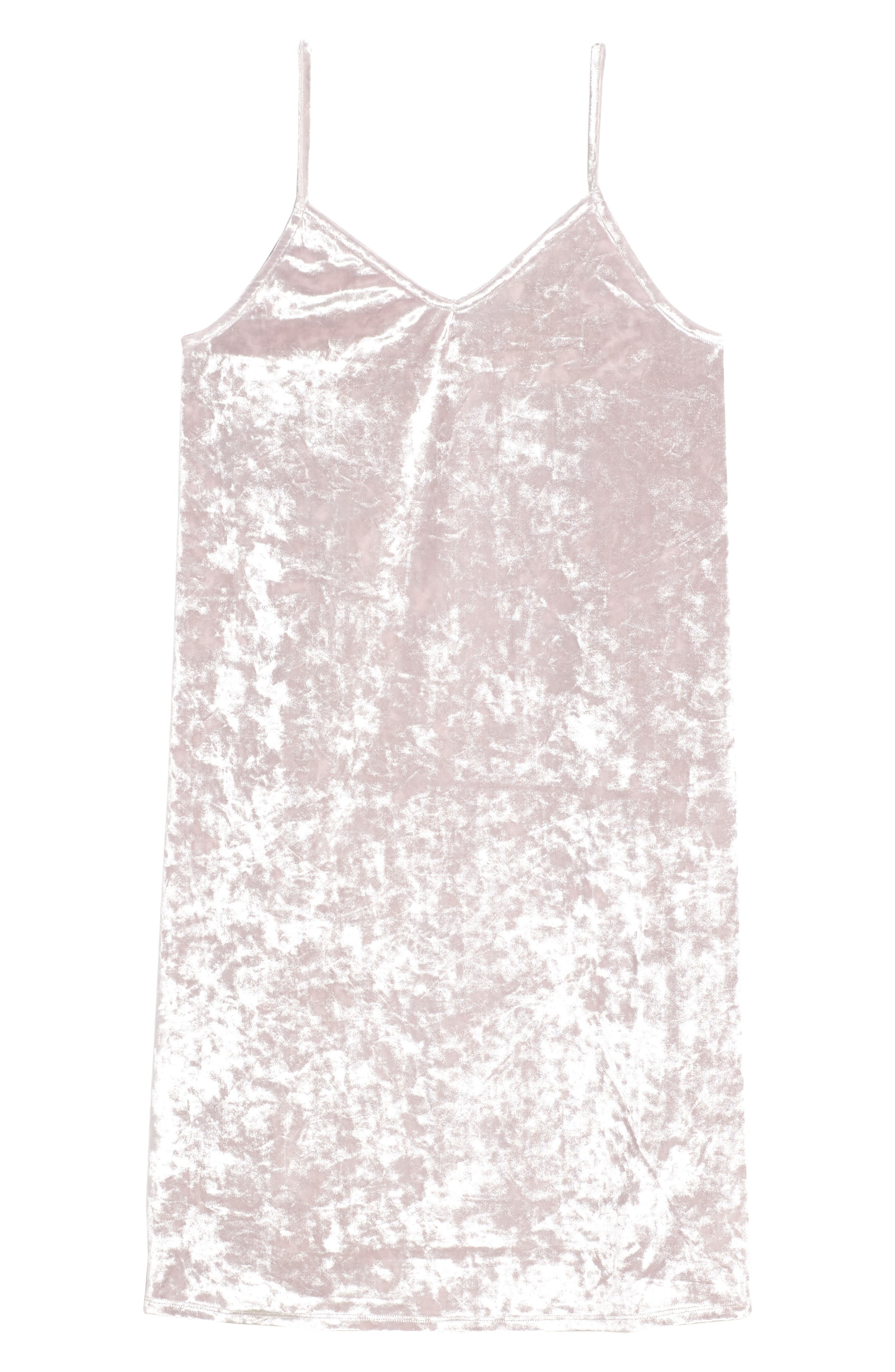 Crushed Velvet Cami Dress,                             Main thumbnail 1, color,                             680