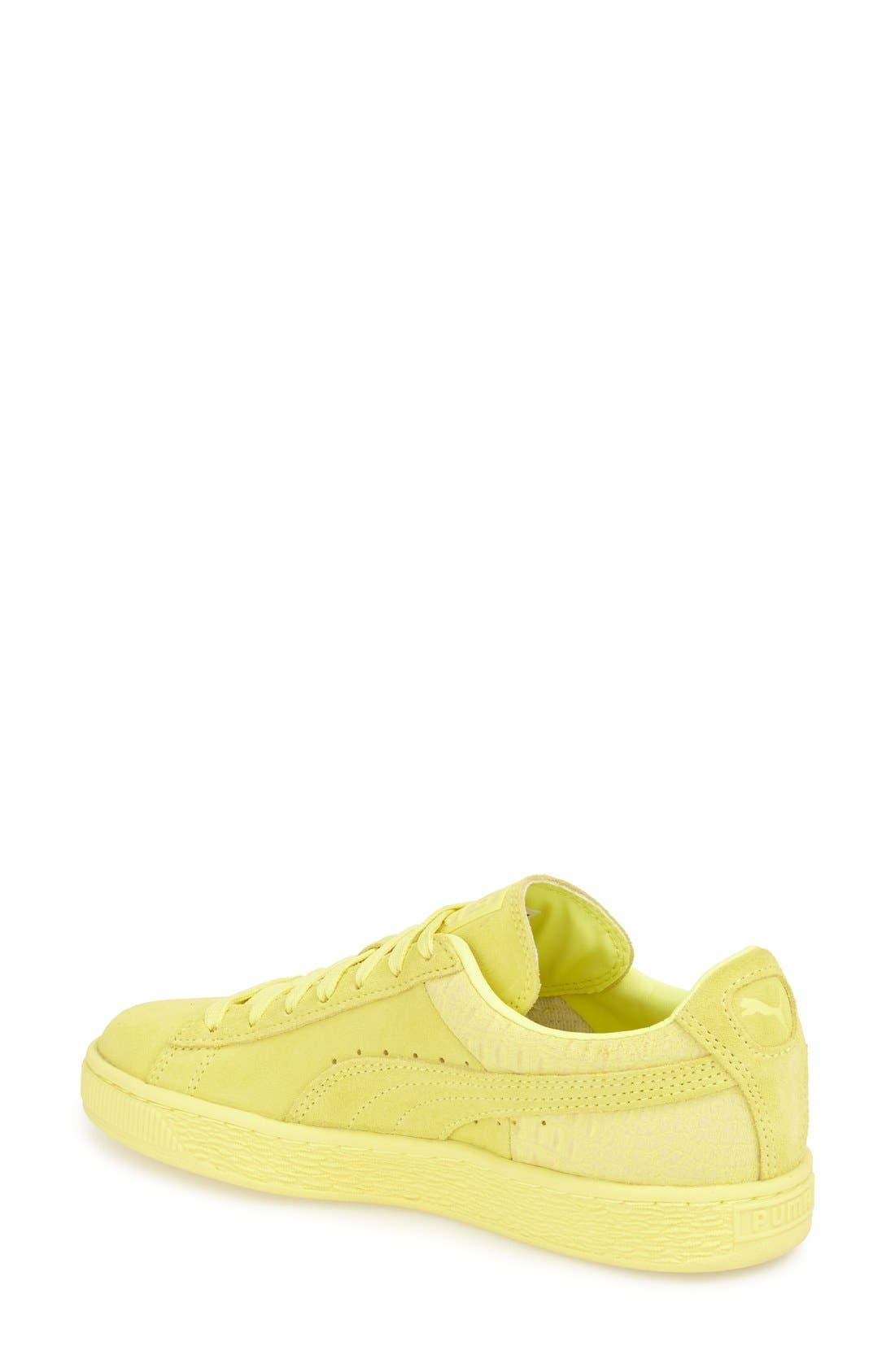 Suede Sneaker,                             Alternate thumbnail 55, color,