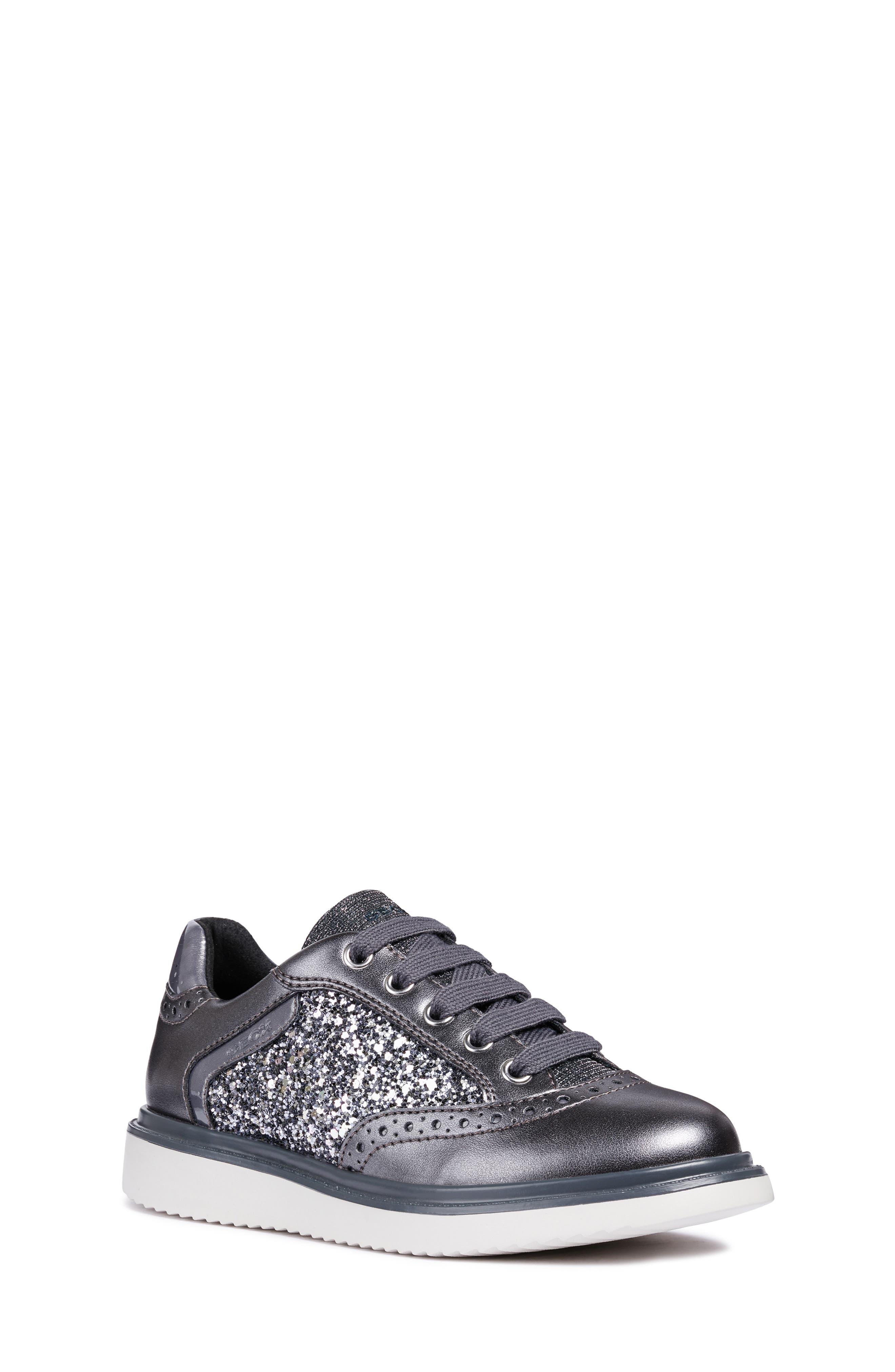 Thymar Sparkle Sneaker,                         Main,                         color, DARK SILVER
