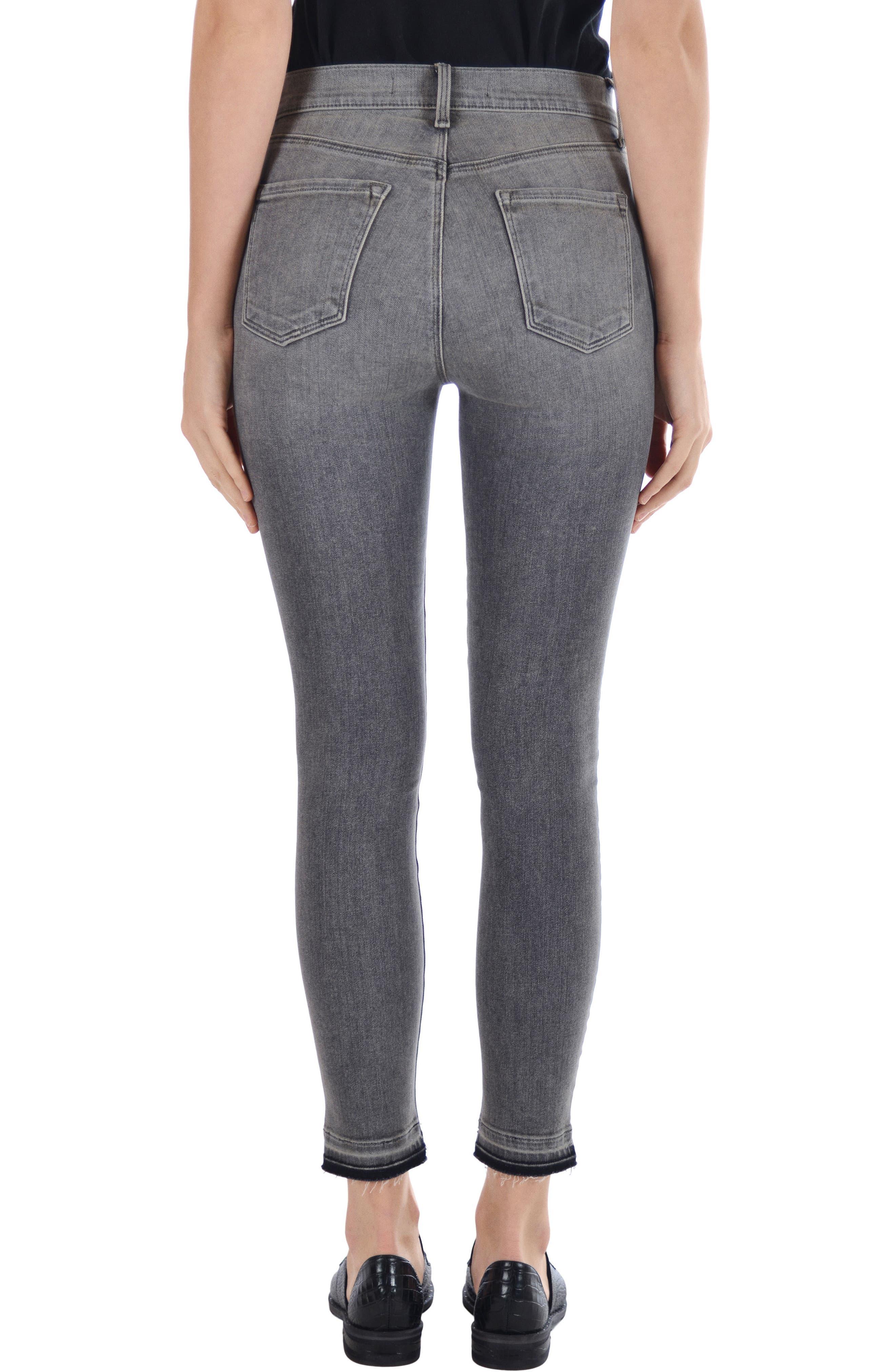 Alana High Waist Ankle Skinny Jeans,                             Alternate thumbnail 2, color,                             030