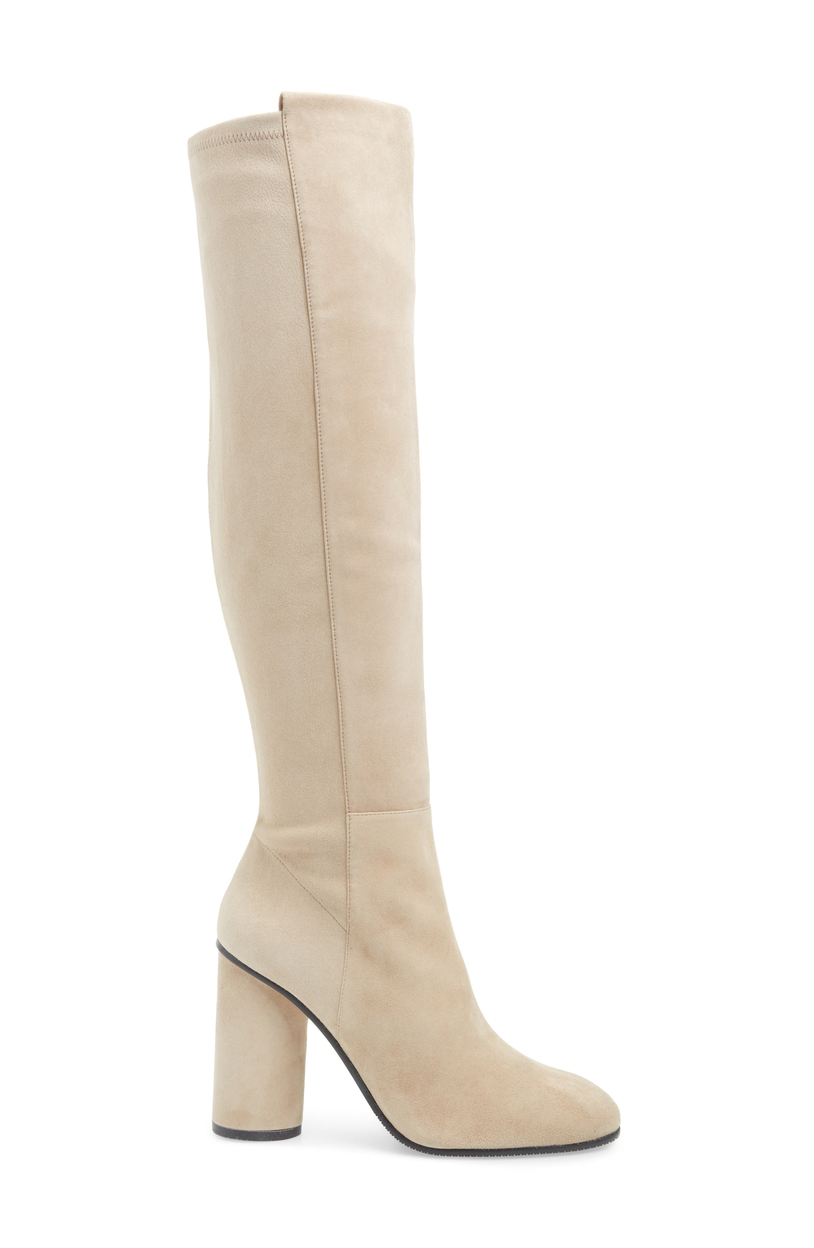 Eloise Over the Knee Boot,                             Alternate thumbnail 3, color,                             BROWNSTONE SUEDE