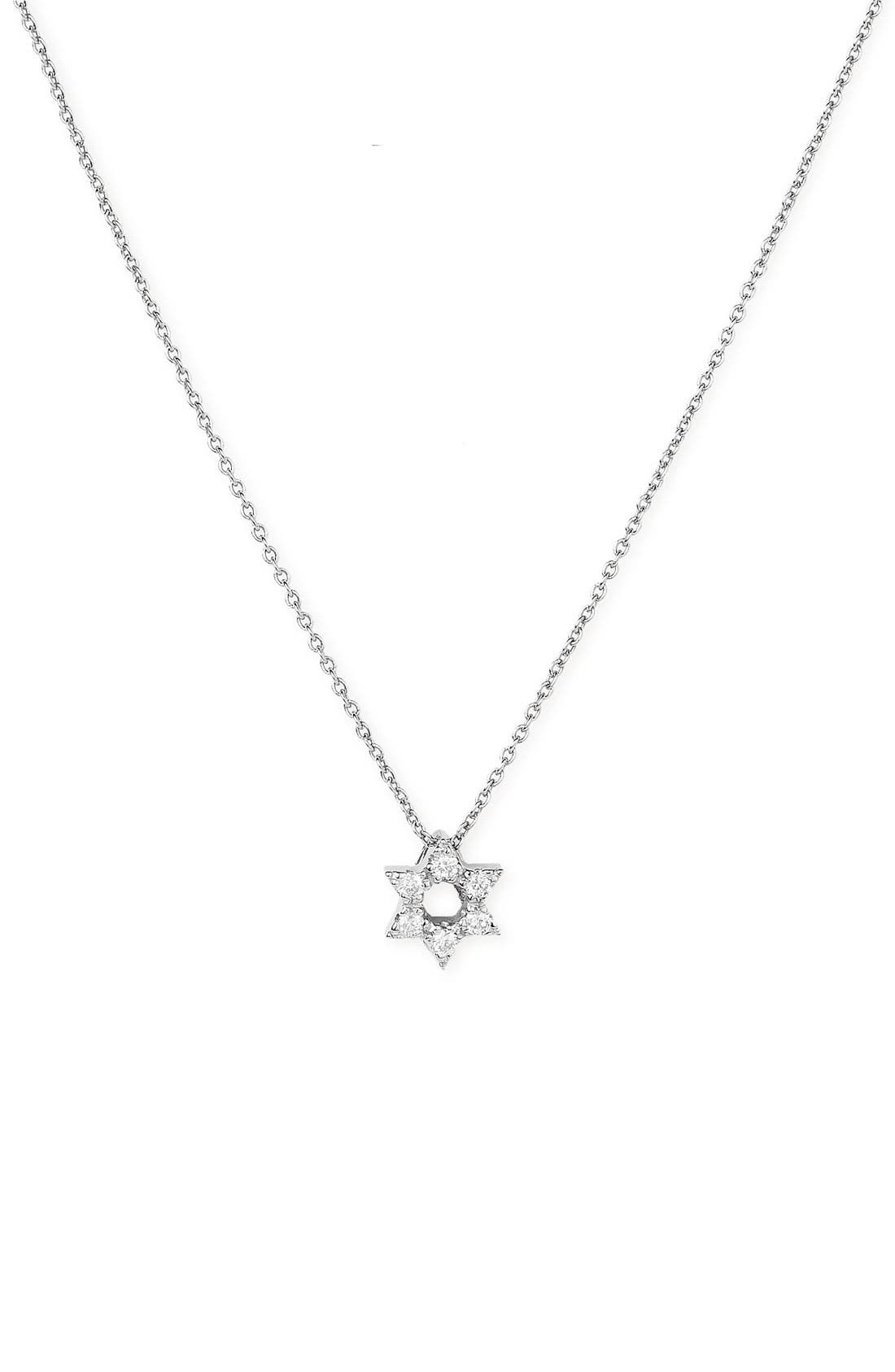 Star of David Pendant,                         Main,                         color, 040