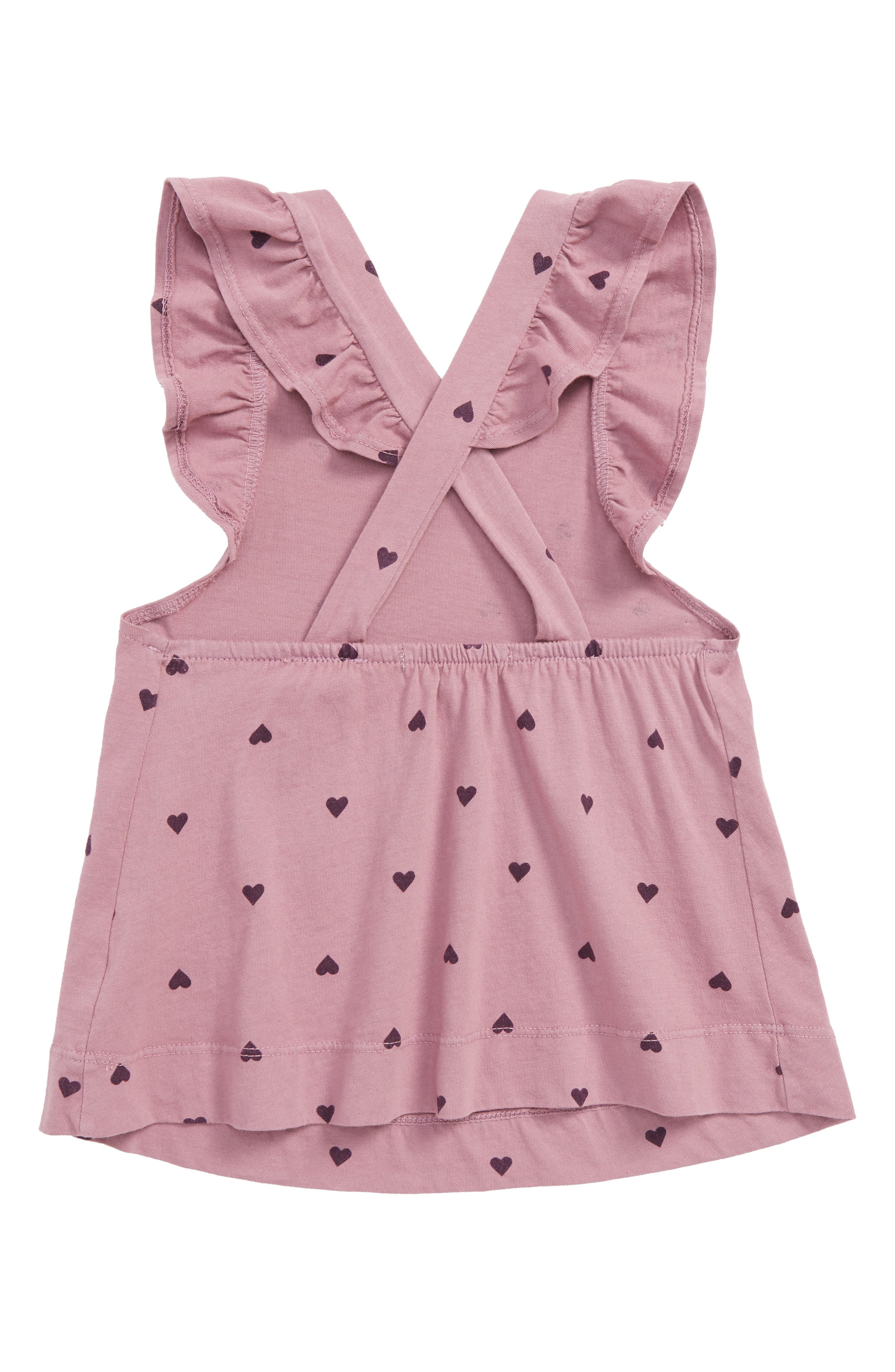 Flutter Sleeve Dress,                             Alternate thumbnail 2, color,                             650