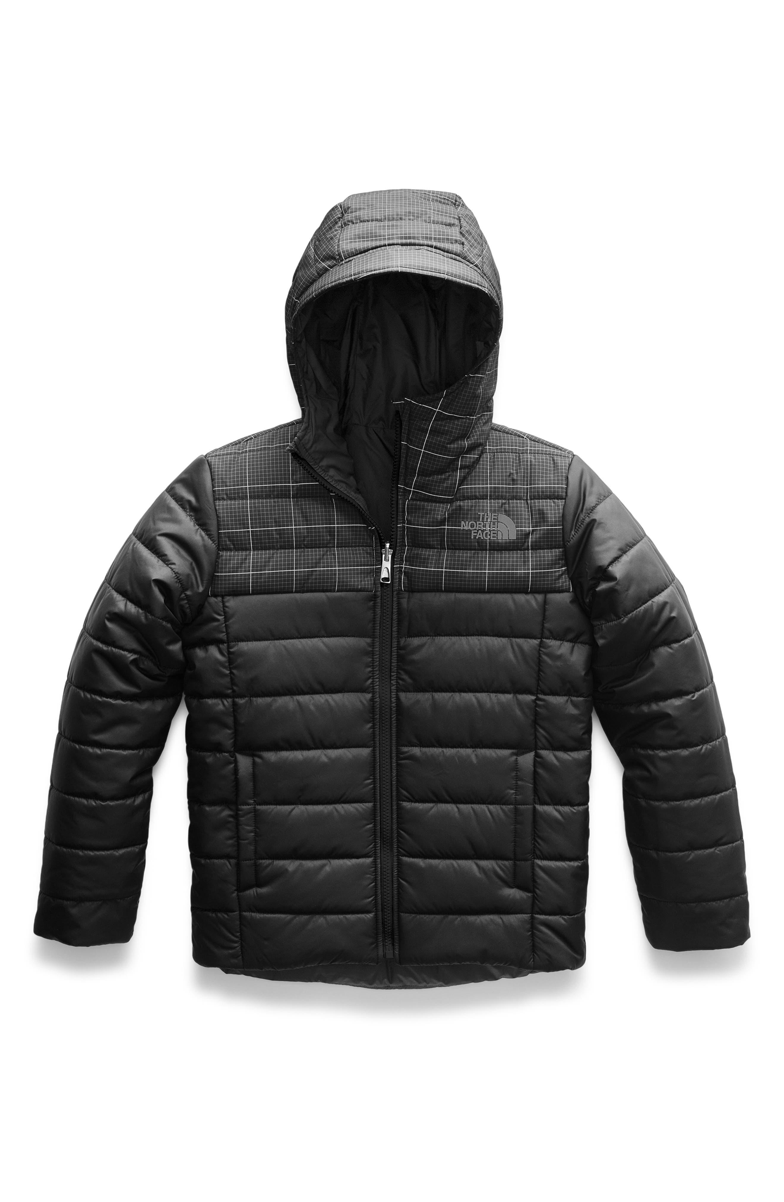 Perrito Reversible Water Resistant Jacket,                             Main thumbnail 1, color,                             001
