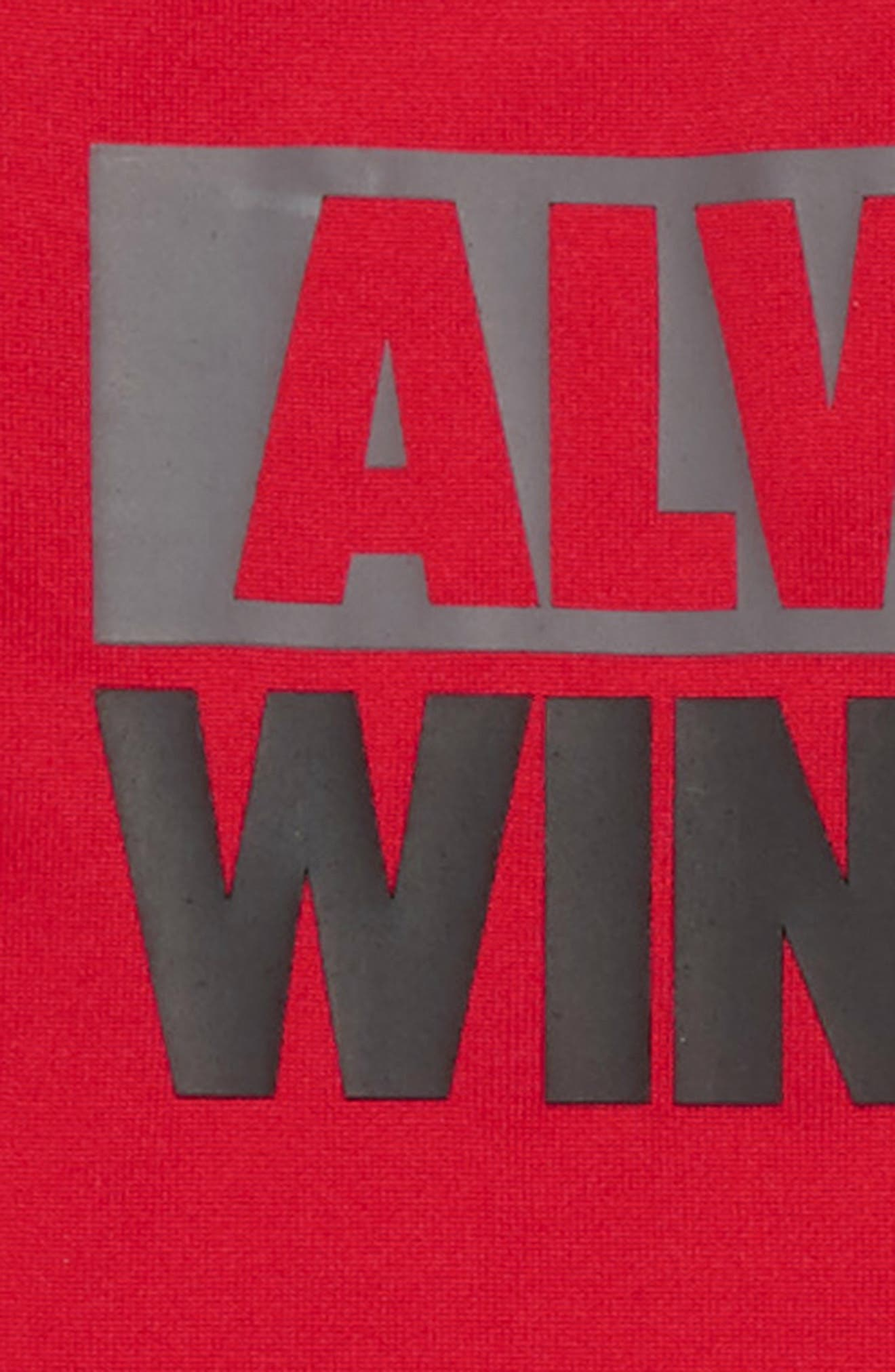 Always Winning Bodysuit & Pants Set,                             Alternate thumbnail 2, color,                             RED