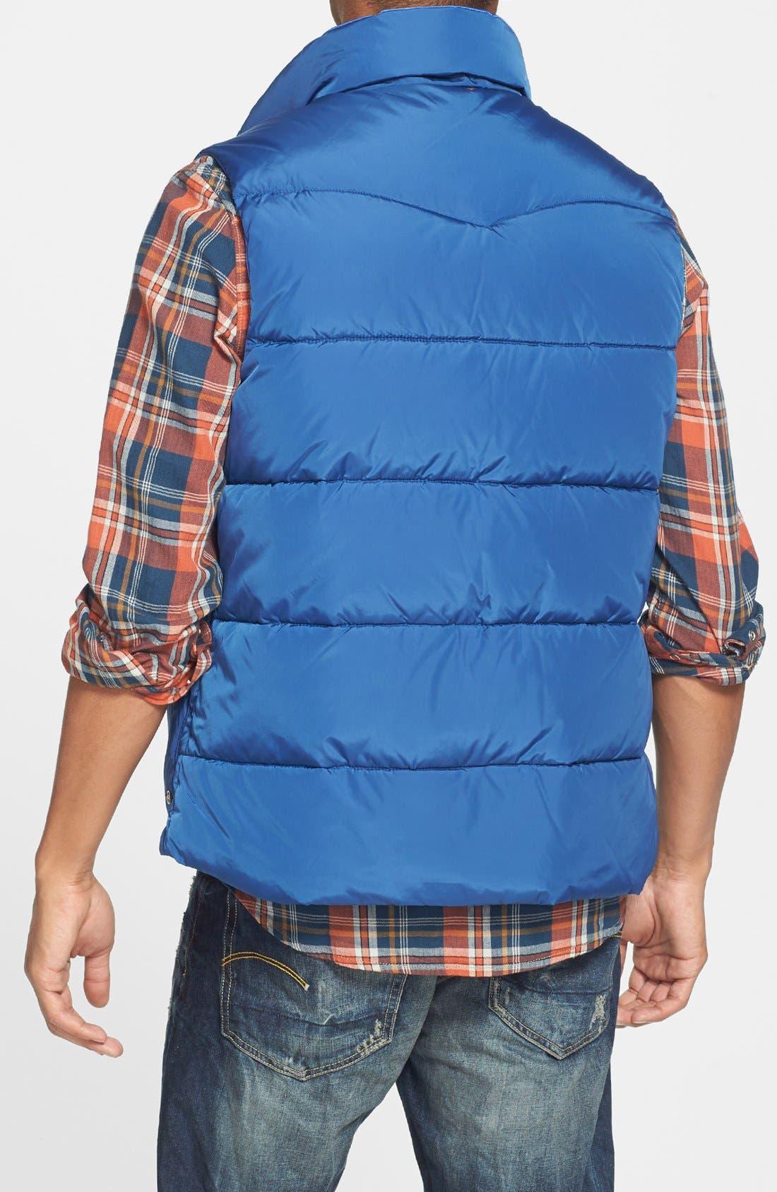 Reversible Quilted Vest,                             Alternate thumbnail 11, color,