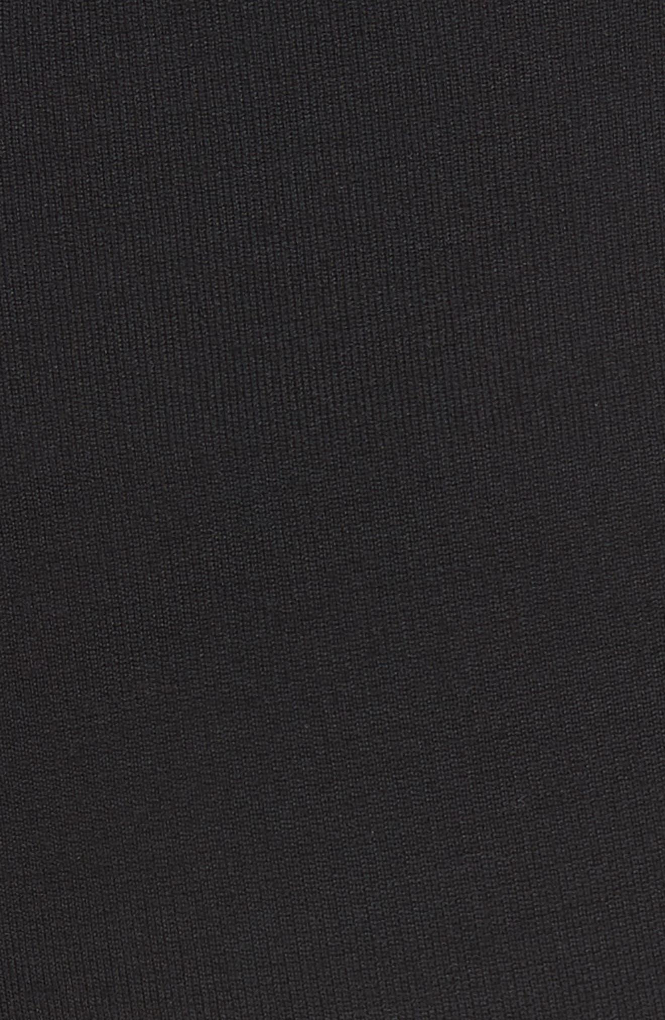 Alexa Milano Knit Pants,                             Alternate thumbnail 5, color,                             CAVIAR