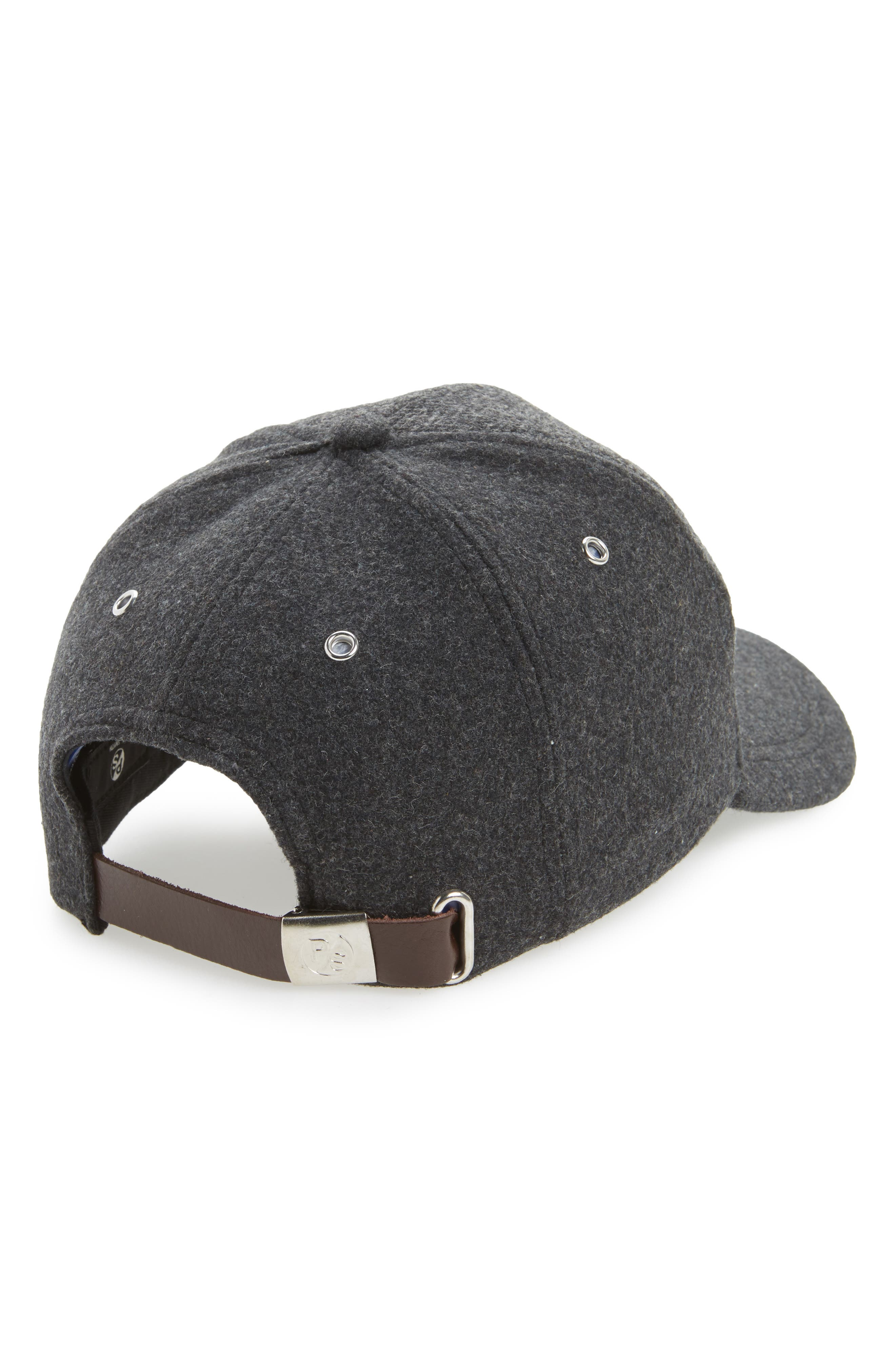 Herringbone Baseball Cap,                             Alternate thumbnail 2, color,                             021
