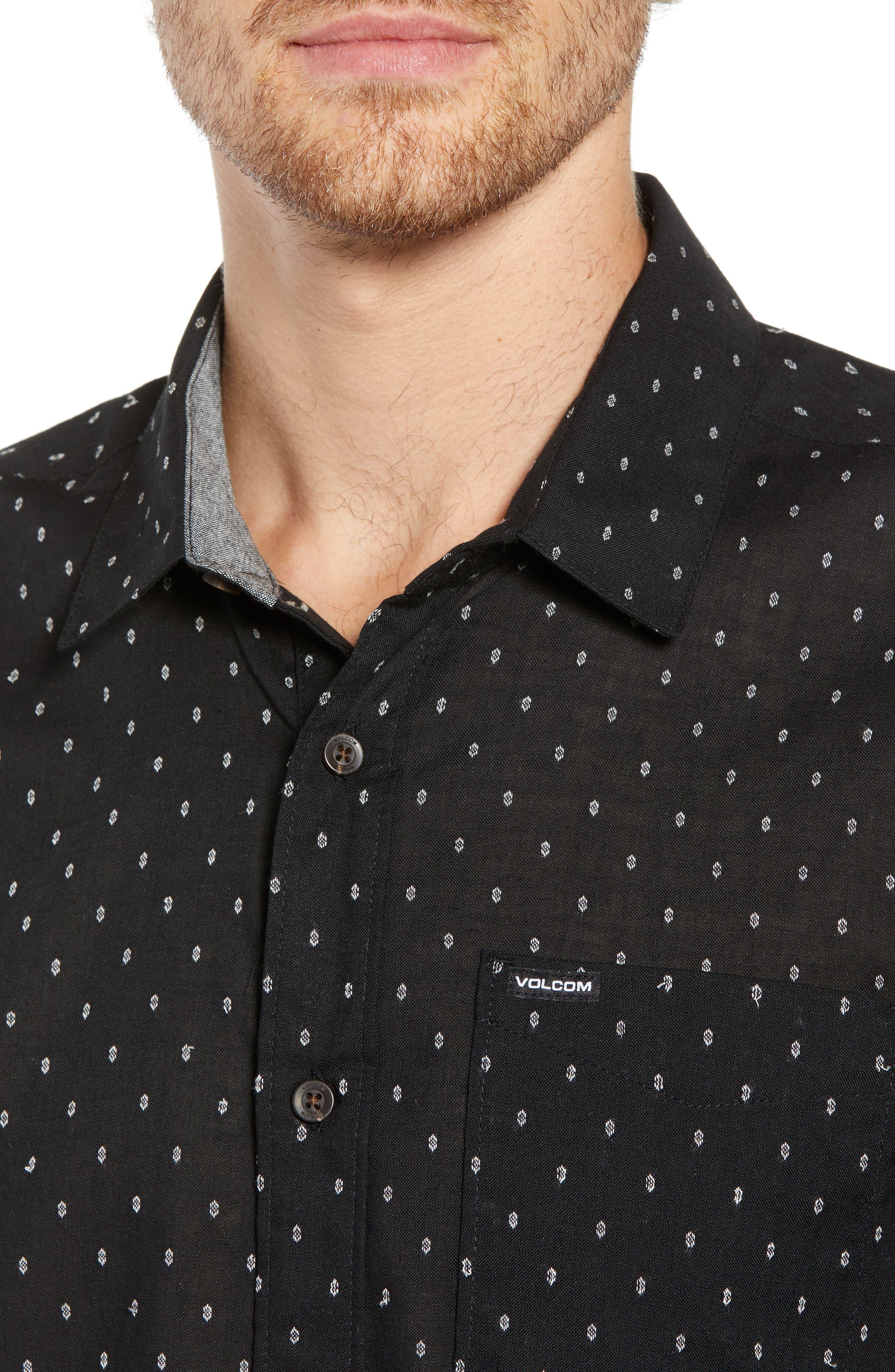 Dobler Woven Shirt,                             Alternate thumbnail 4, color,                             001