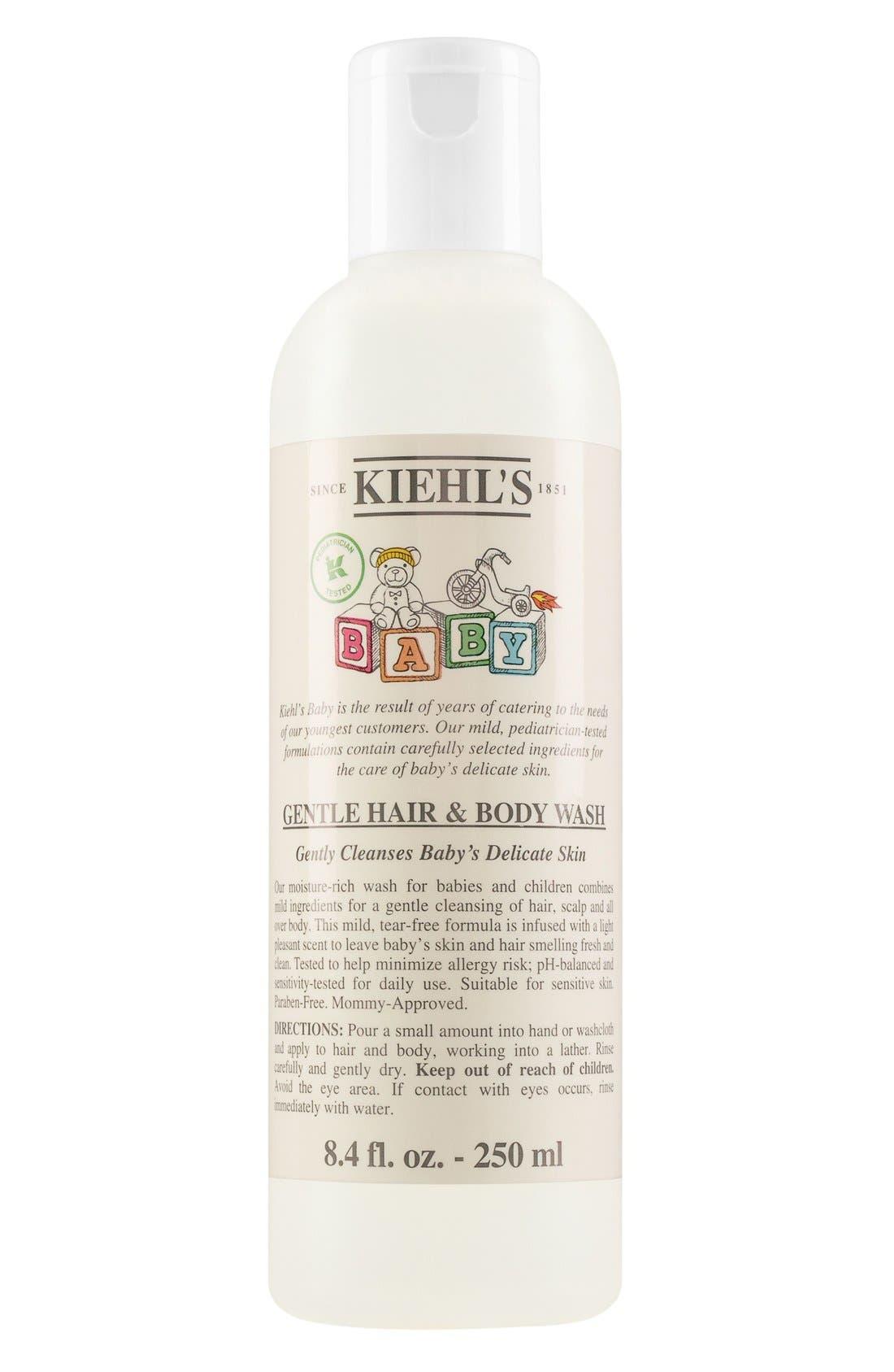 Baby Gentle Hair & Body Wash,                         Main,                         color, NO COLOR