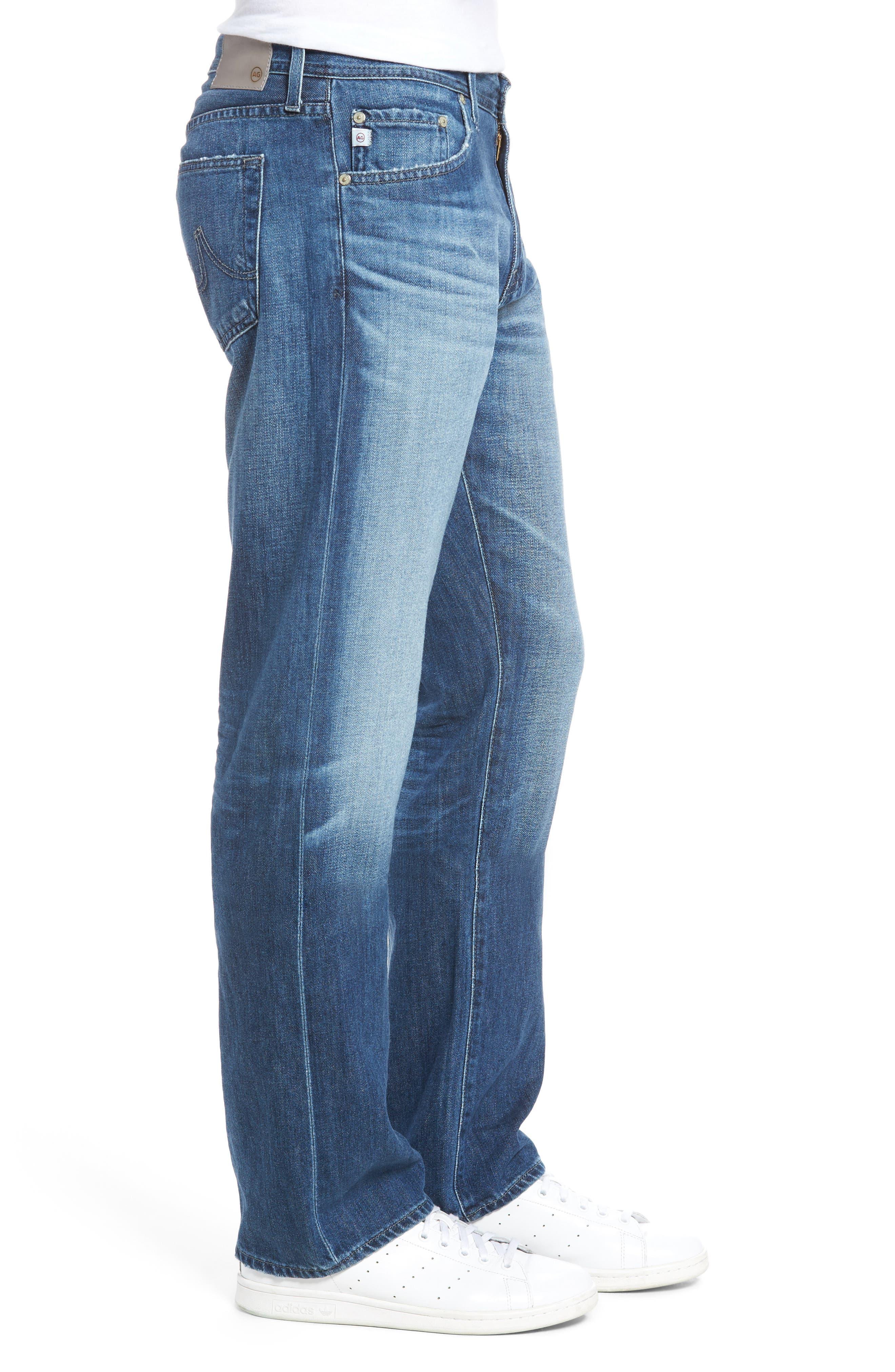 Protégé Relaxed Fit Jeans,                             Alternate thumbnail 3, color,                             472