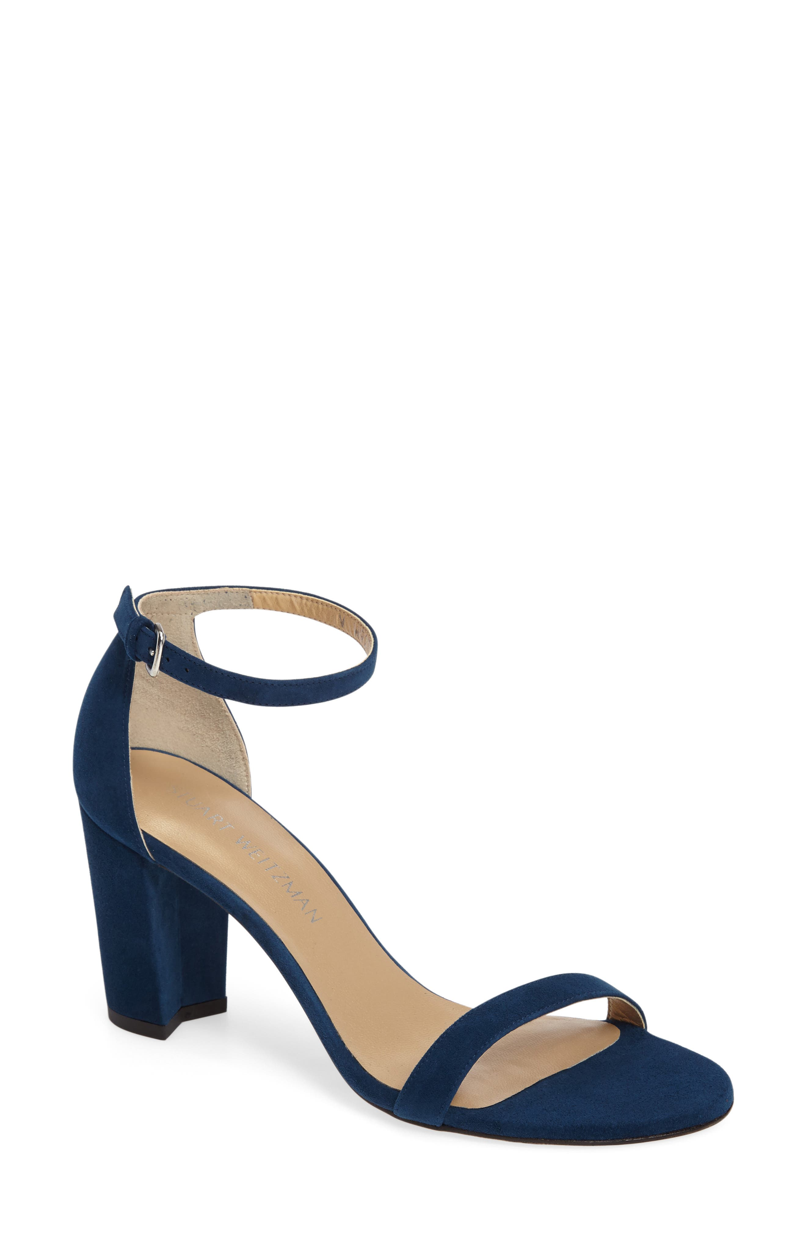 NearlyNude Ankle Strap Sandal,                             Main thumbnail 23, color,