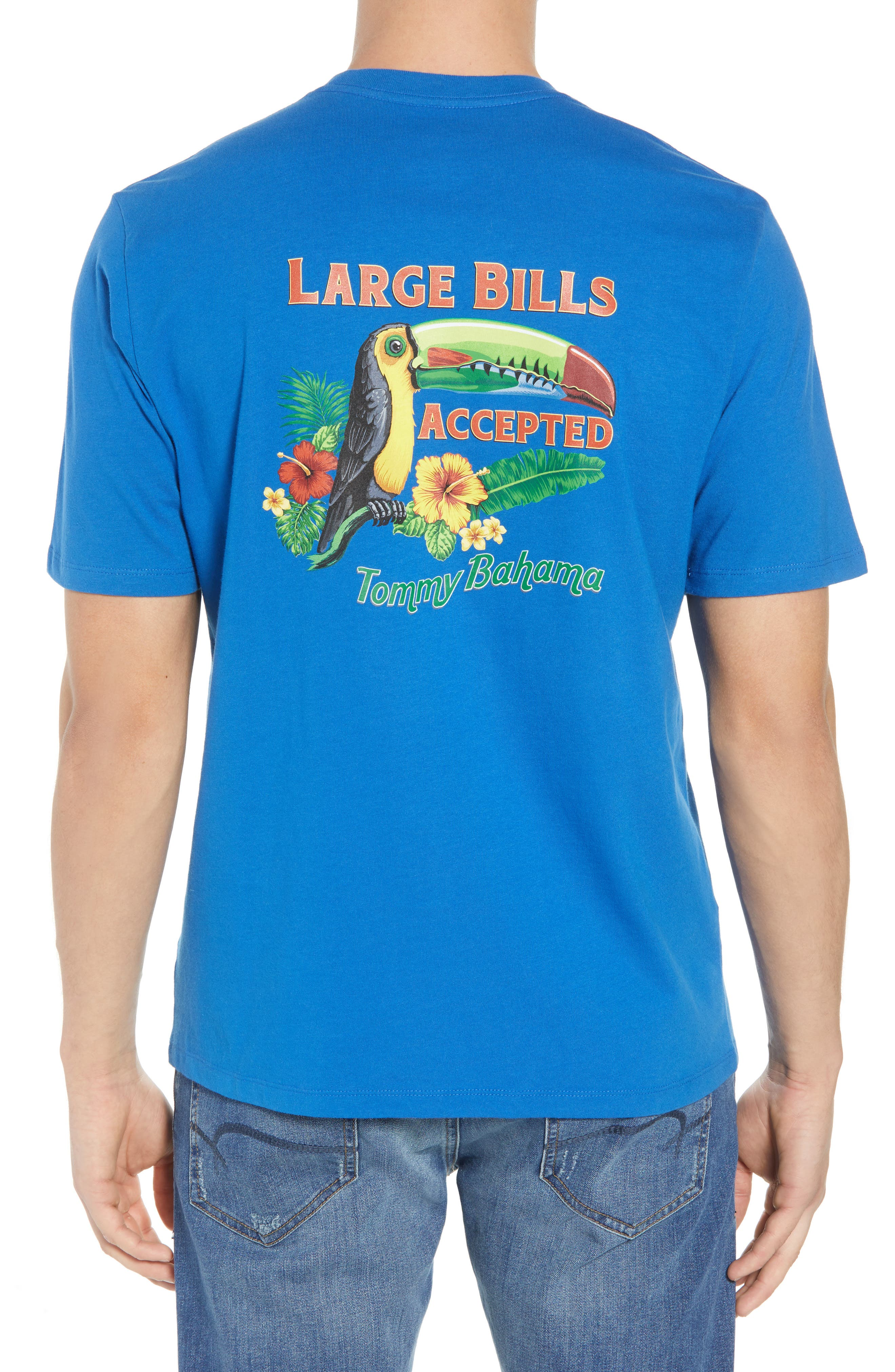 Large Bills Graphic T-Shirt,                             Alternate thumbnail 2, color,                             400
