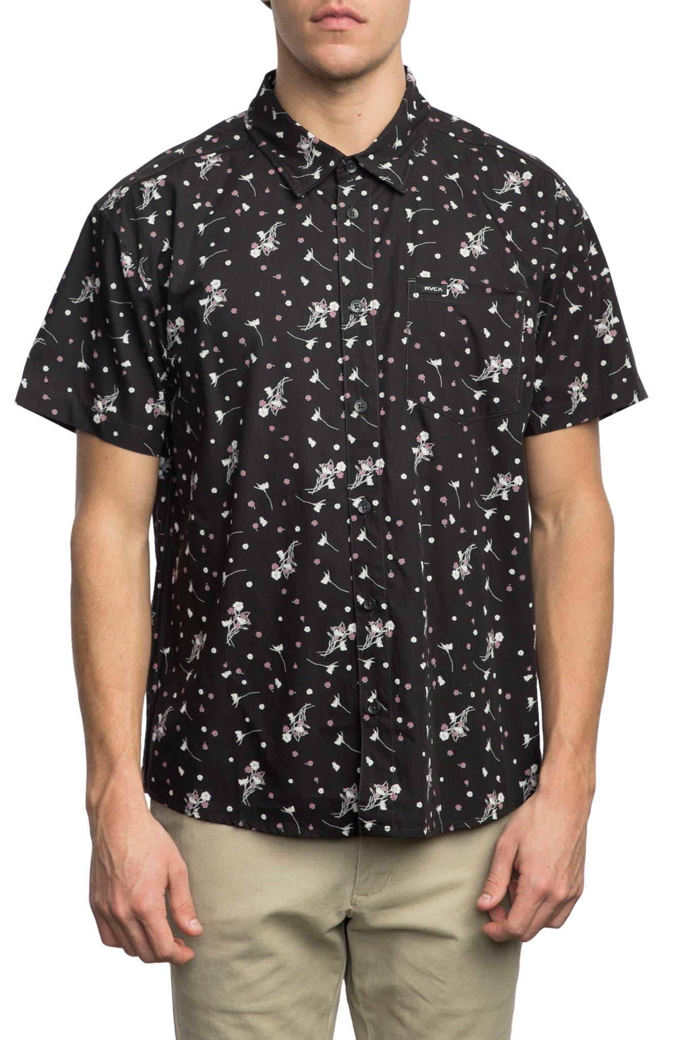 Print Woven Shirt,                             Main thumbnail 1, color,