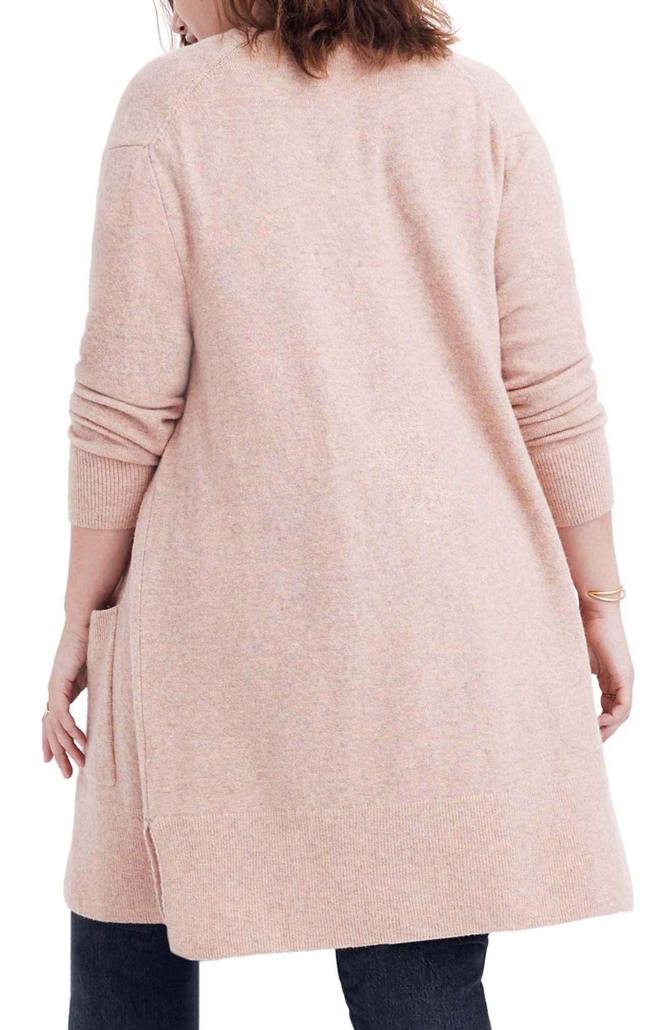 Kent Cardigan Sweater,                             Alternate thumbnail 6, color,                             HEATHER CARNATION