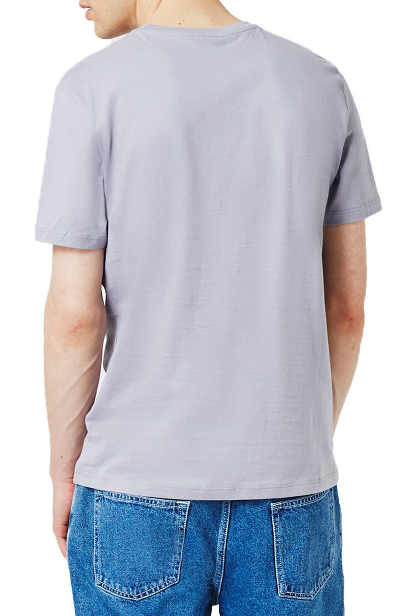 Slim Fit Crewneck T-Shirt,                             Alternate thumbnail 173, color,