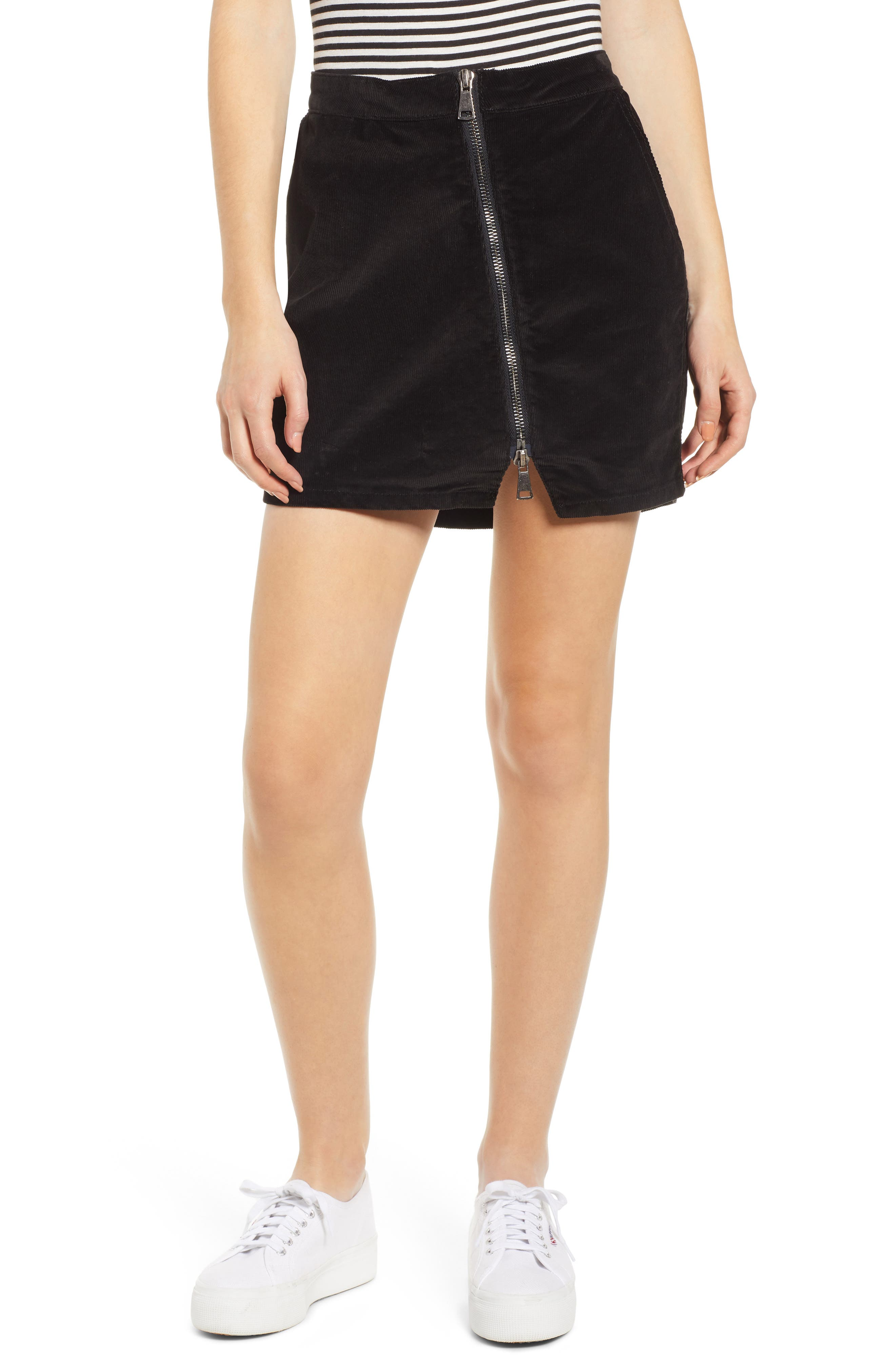 Lira Clothing Javelin Corduroy Miniskirt