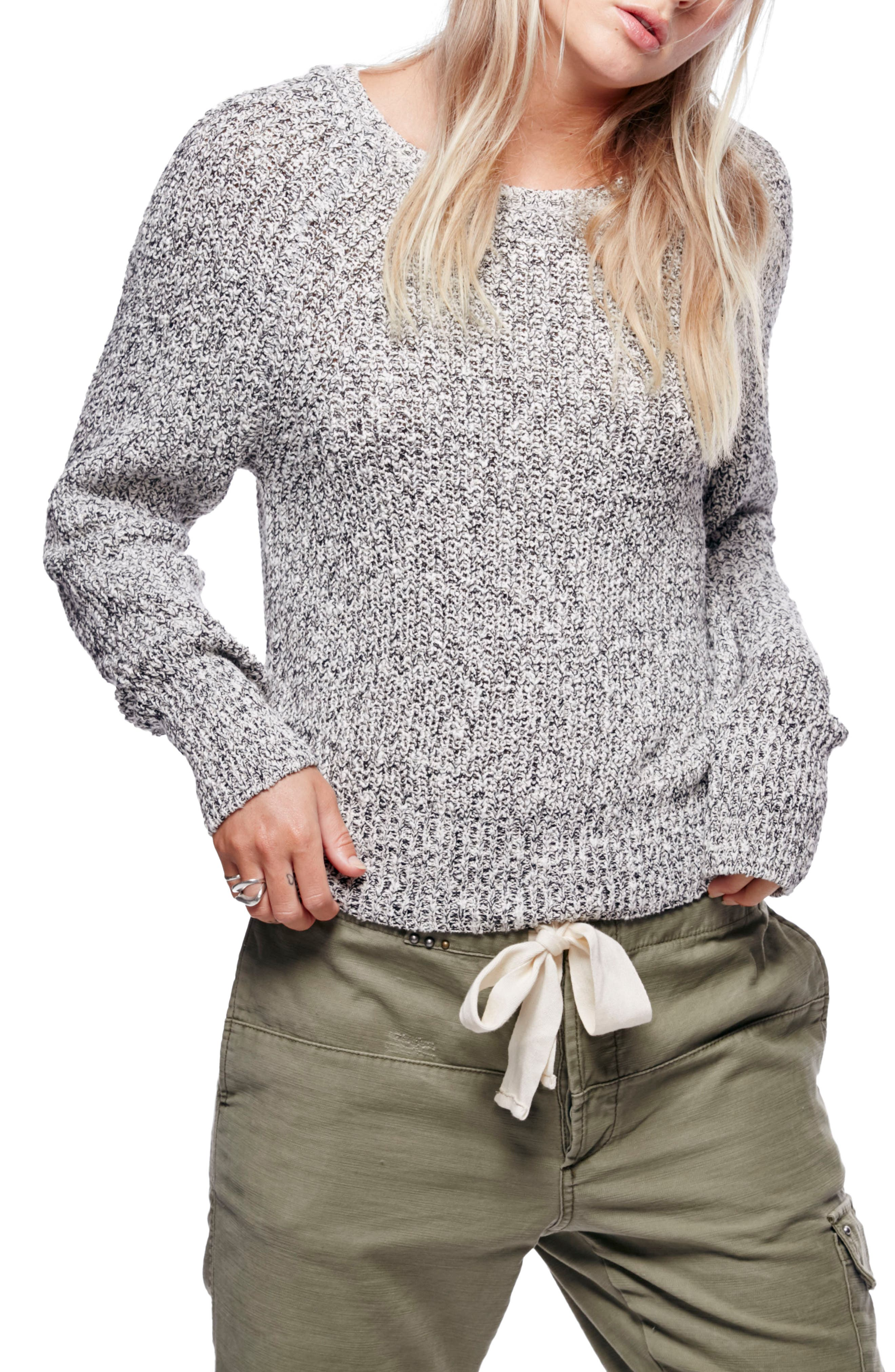 Electric City Pullover Sweater,                             Main thumbnail 1, color,                             001
