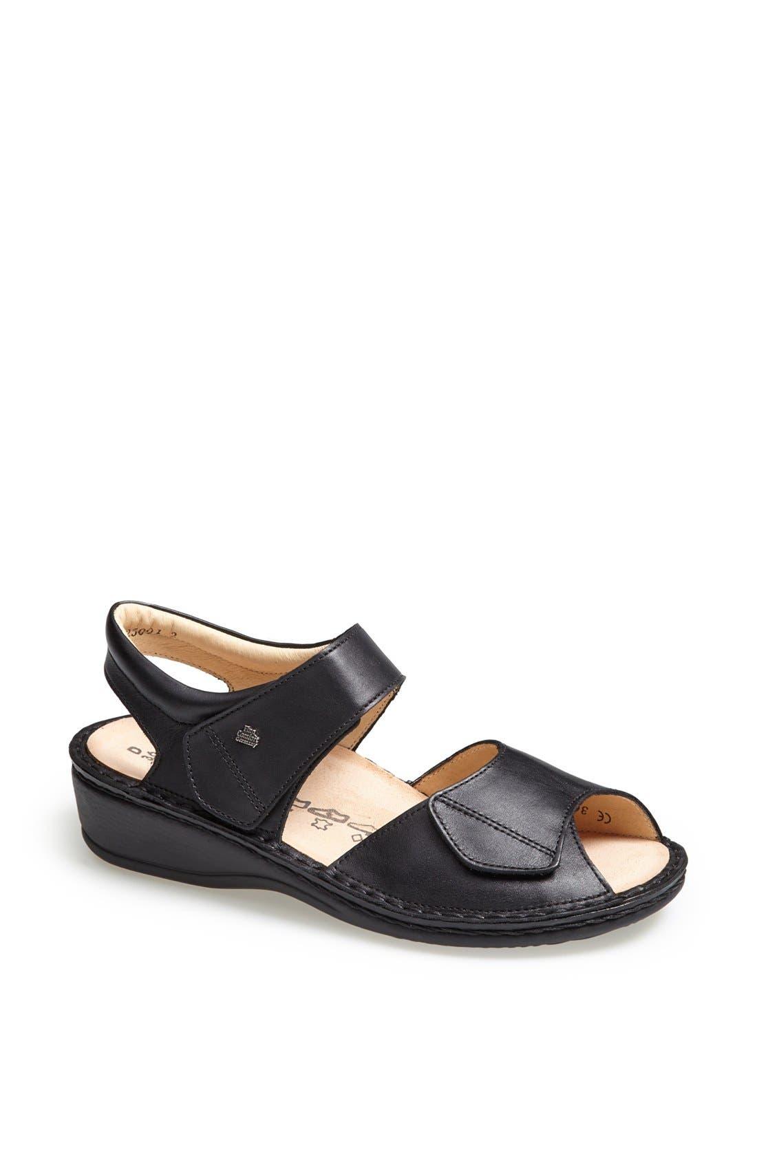 'Faro-S' Leather Sandal,                             Main thumbnail 1, color,