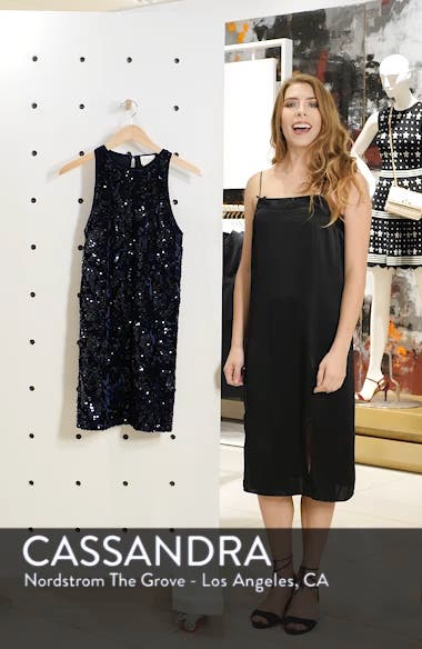 Teddy Sequin Embellished Dress, sales video thumbnail