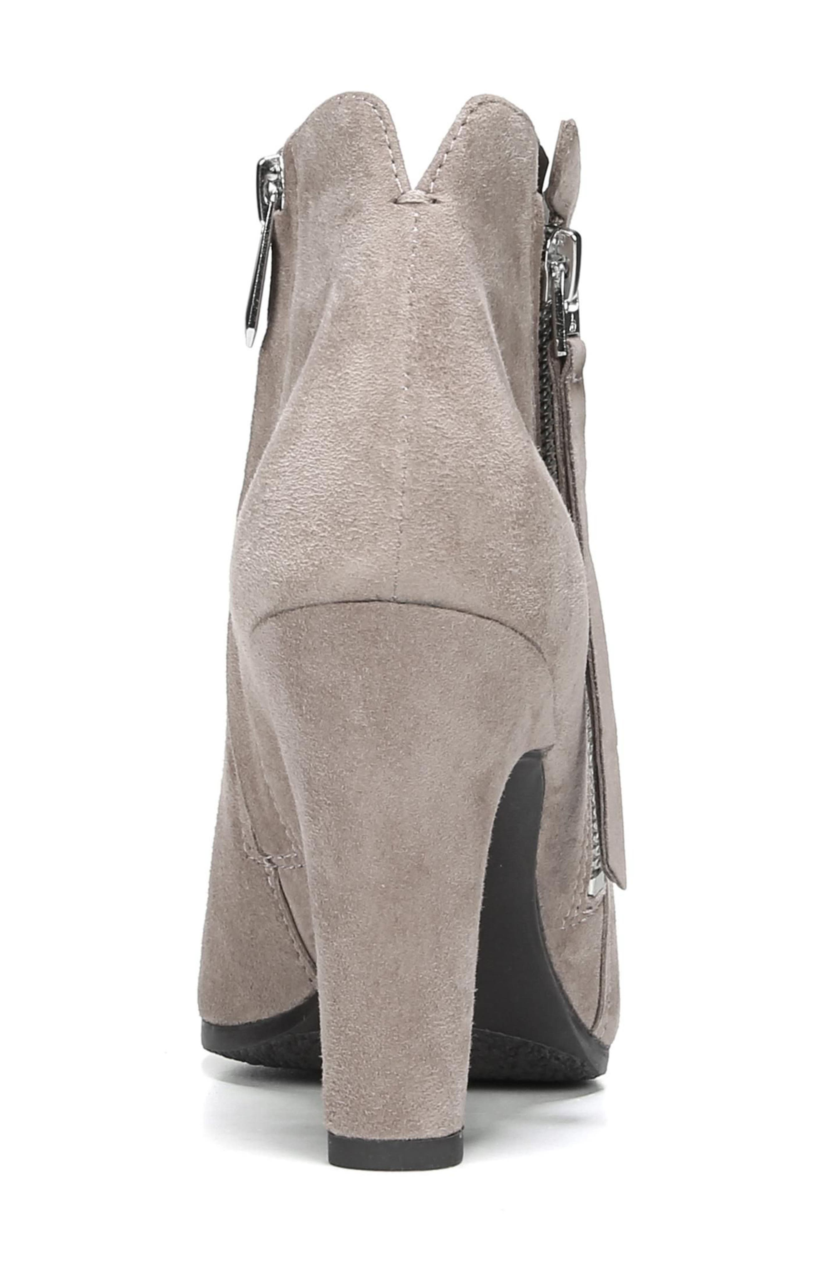Sadee Angle Zip Bootie,                             Alternate thumbnail 7, color,                             NEW PUTTY SUEDE
