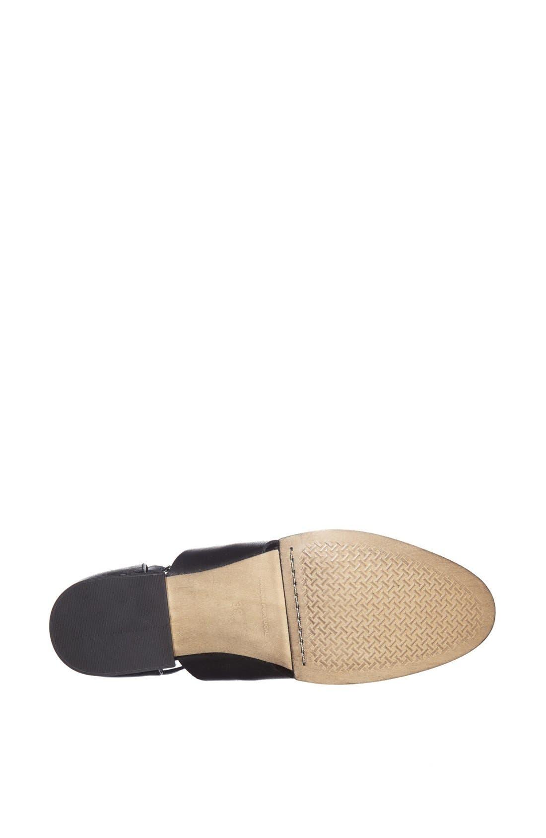 'Kapa' Cutout Shoe,                             Alternate thumbnail 2, color,                             001