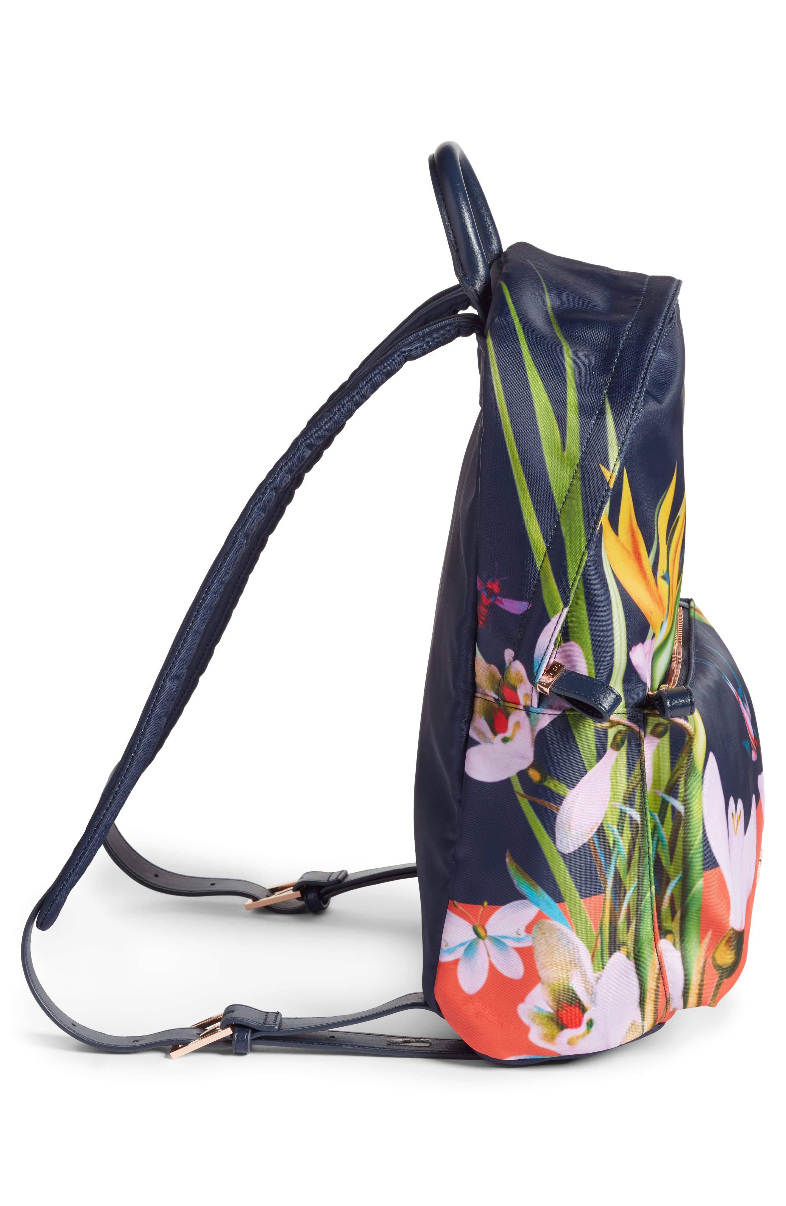Tropical Oasis Backpack,                             Alternate thumbnail 5, color,                             410