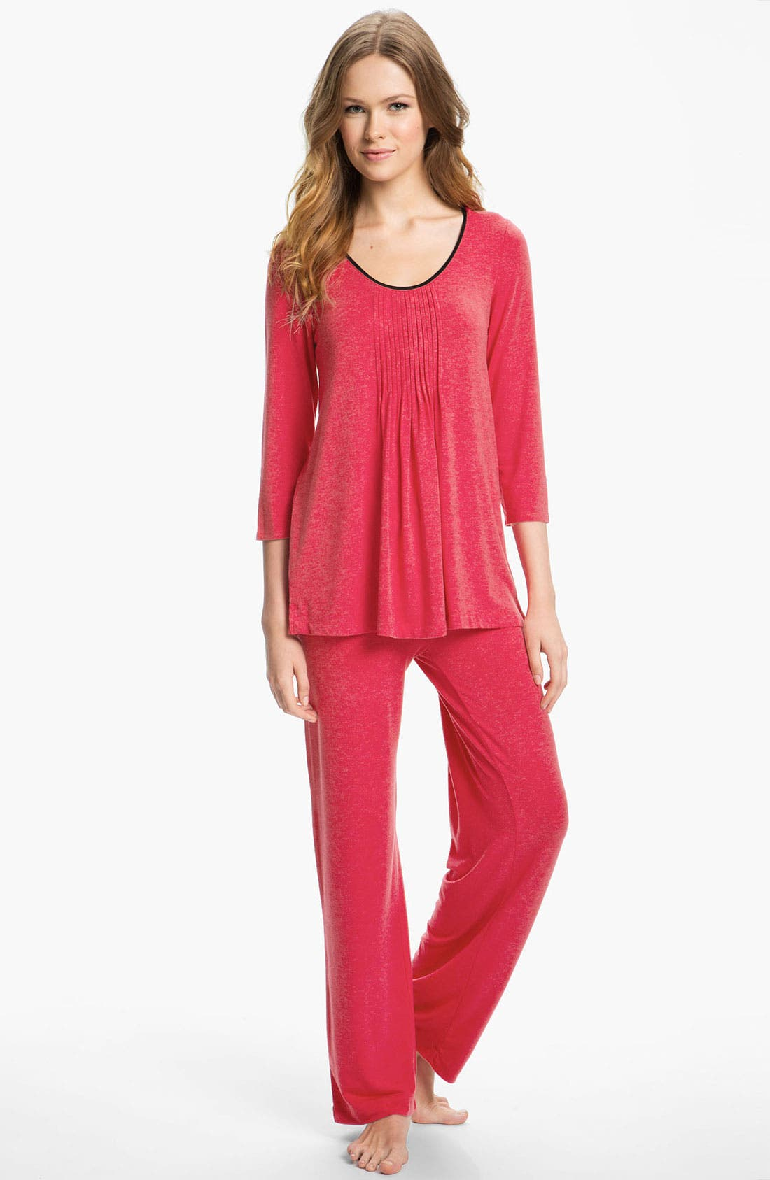 ,                             DKNY '7 Easy Pieces' Top & Pants,                             Alternate thumbnail 2, color,                             608