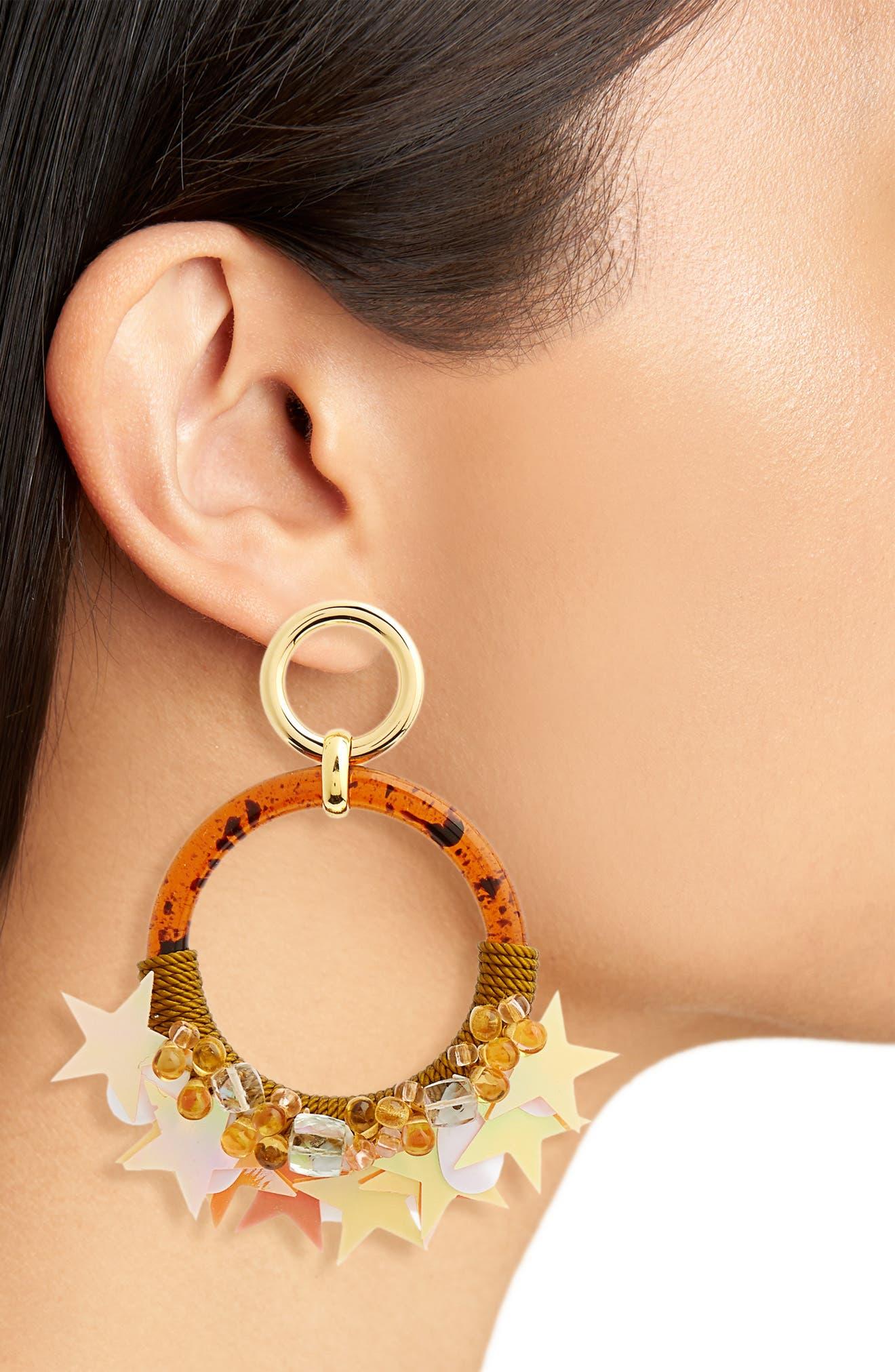 Starry Night Earrings,                             Alternate thumbnail 2, color,                             200
