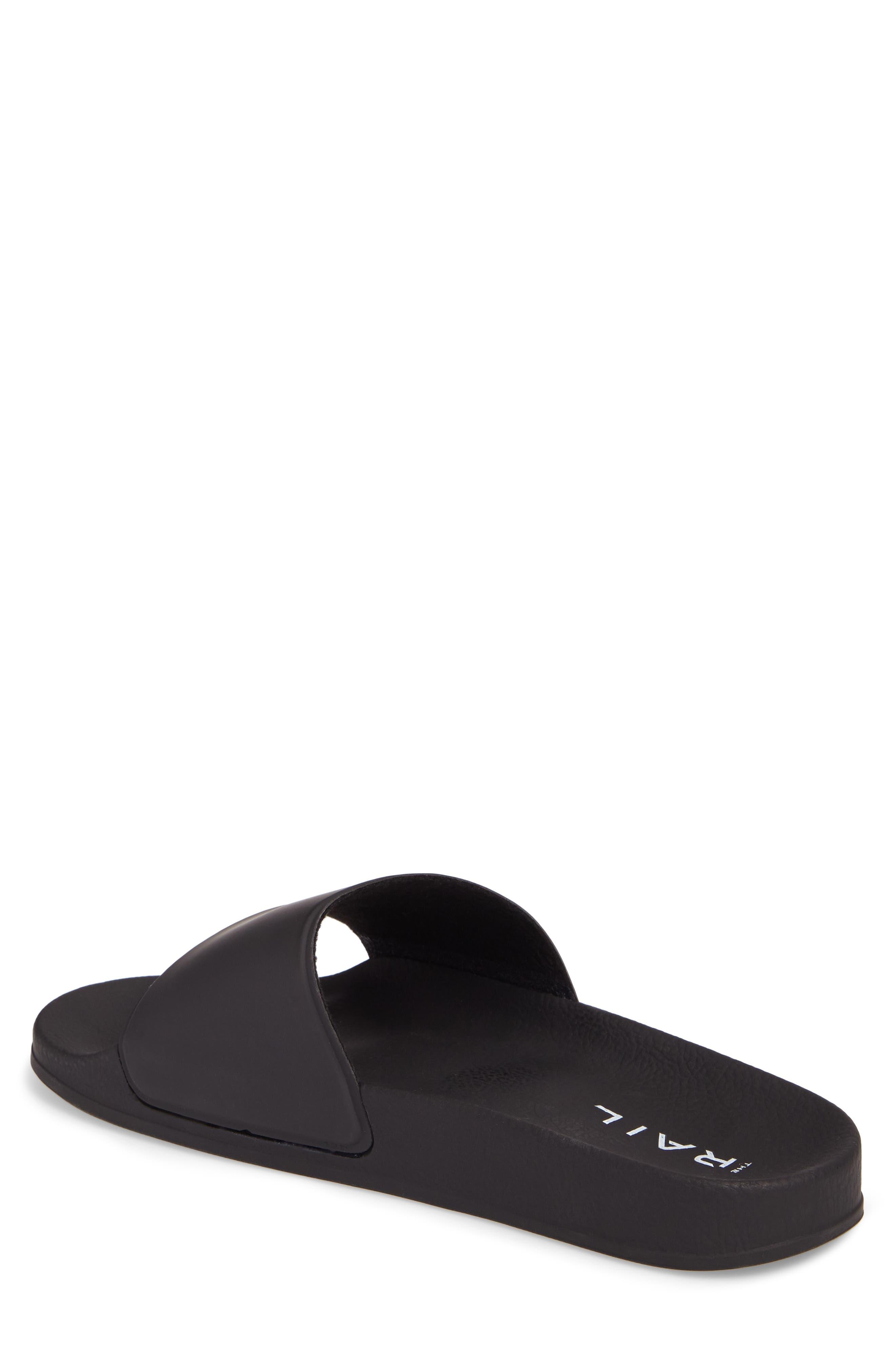 Bondi Slide Sandal,                             Alternate thumbnail 2, color,                             BLACK
