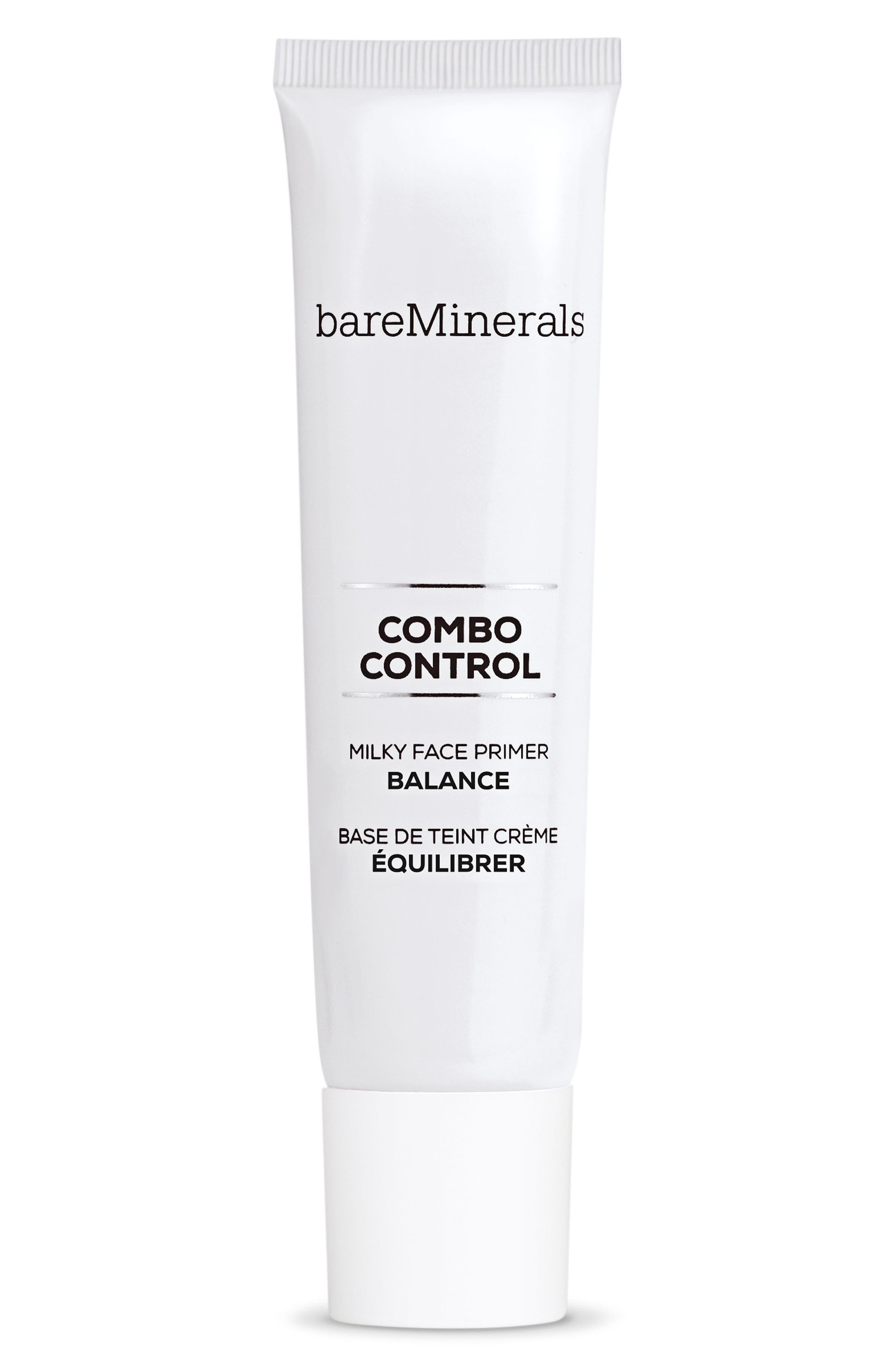 Combo Control Milky Face Primer,                             Main thumbnail 1, color,                             NO COLOR