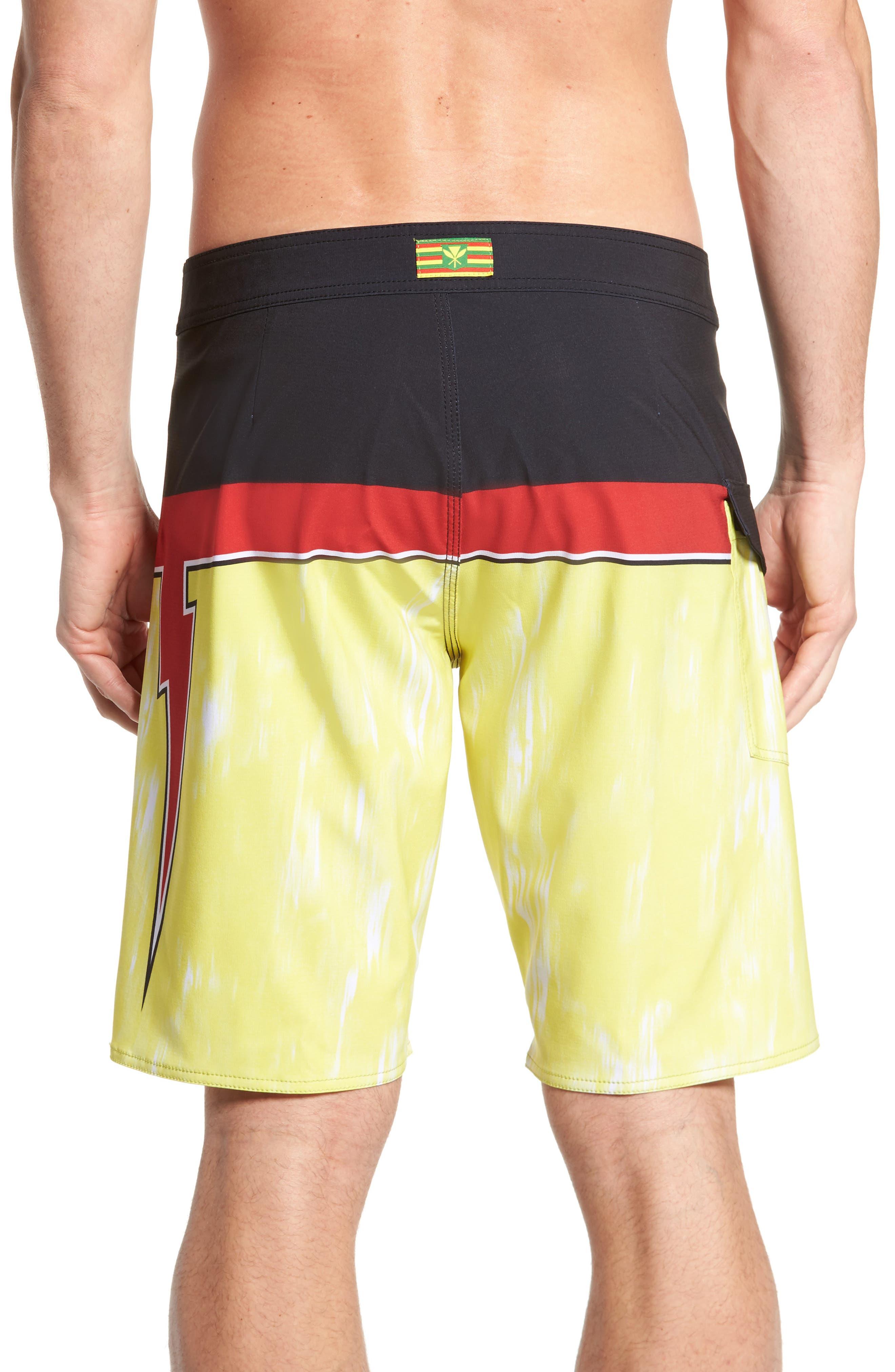 Makua Bolt Board Shorts,                             Alternate thumbnail 2, color,                             740