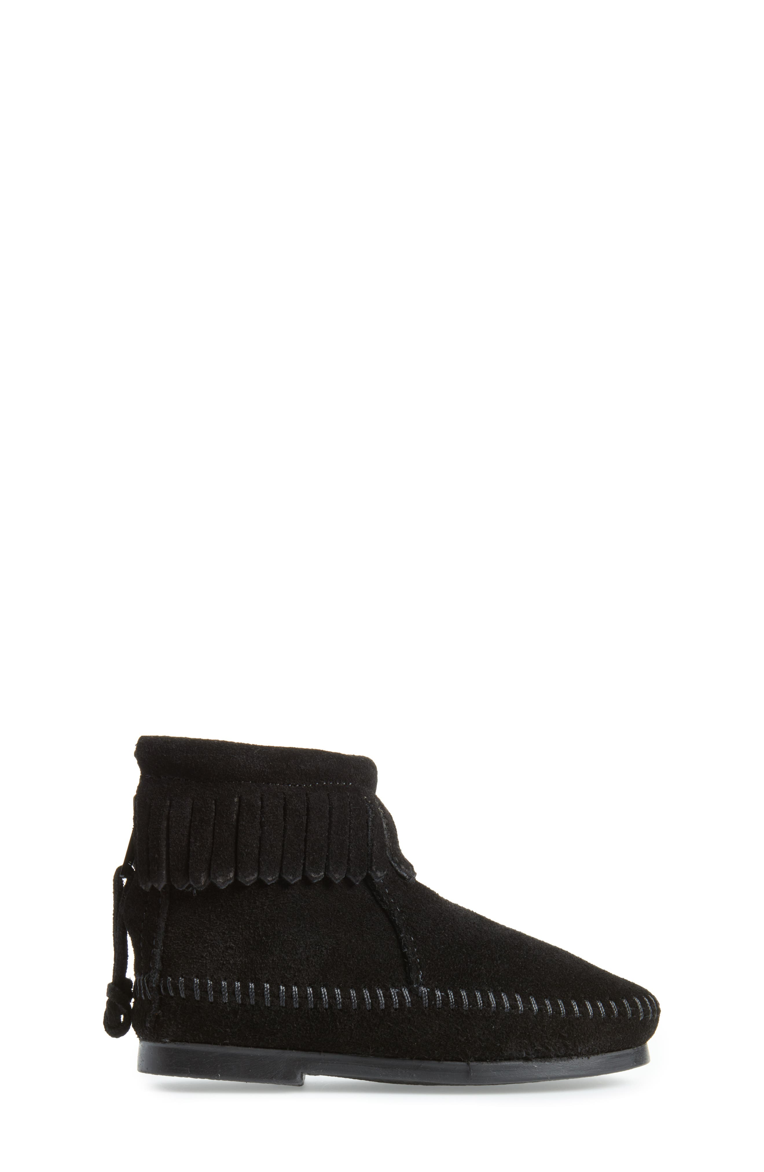 Back Zip Boot,                             Alternate thumbnail 3, color,                             001