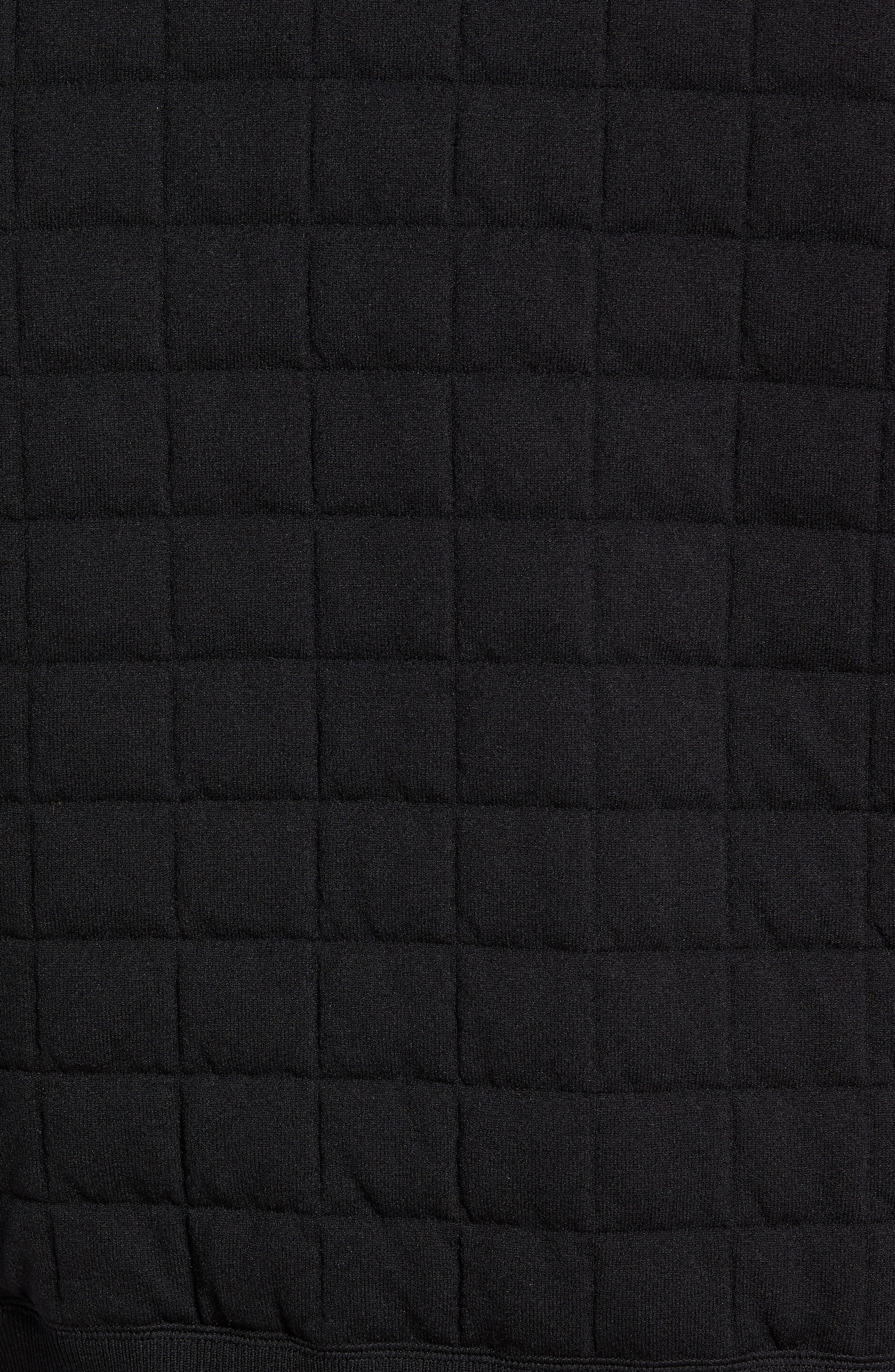 Quilted Bomber Jacket,                             Alternate thumbnail 6, color,                             001